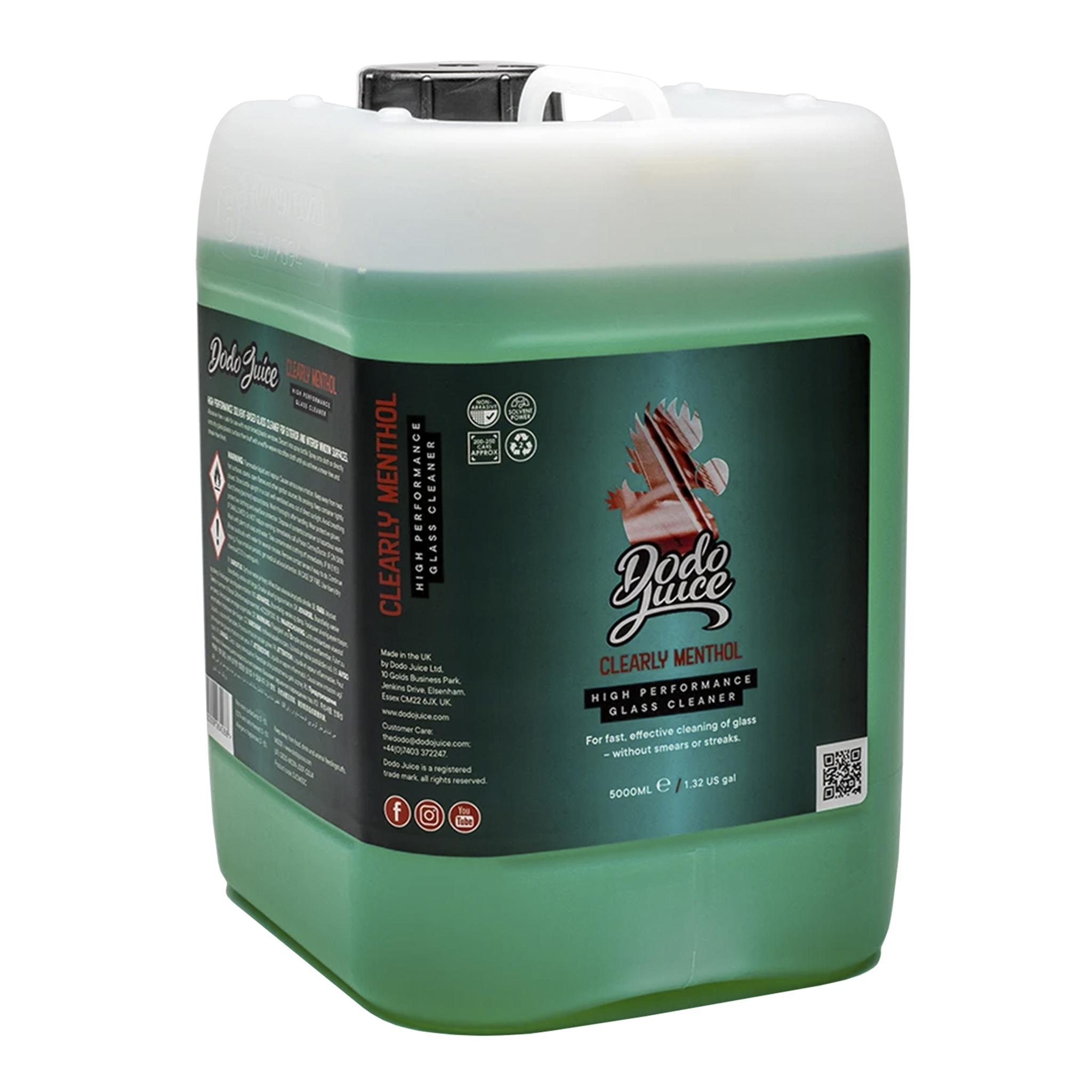 Glasrengöring Dodo Juice Clearly Menthol, 5000 ml