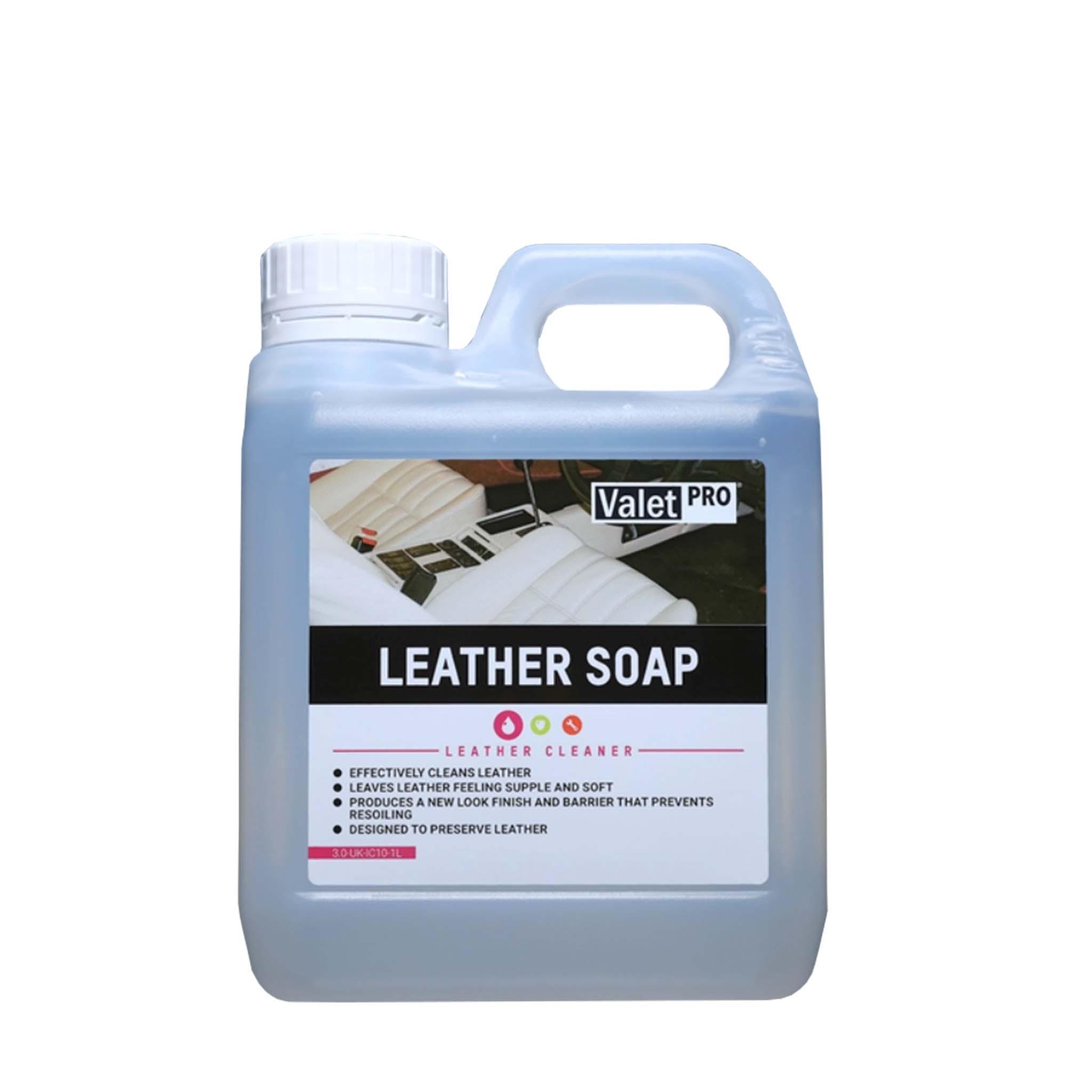 Läderrengöring ValetPRO Leather Soap, 1000 ml / Dunk