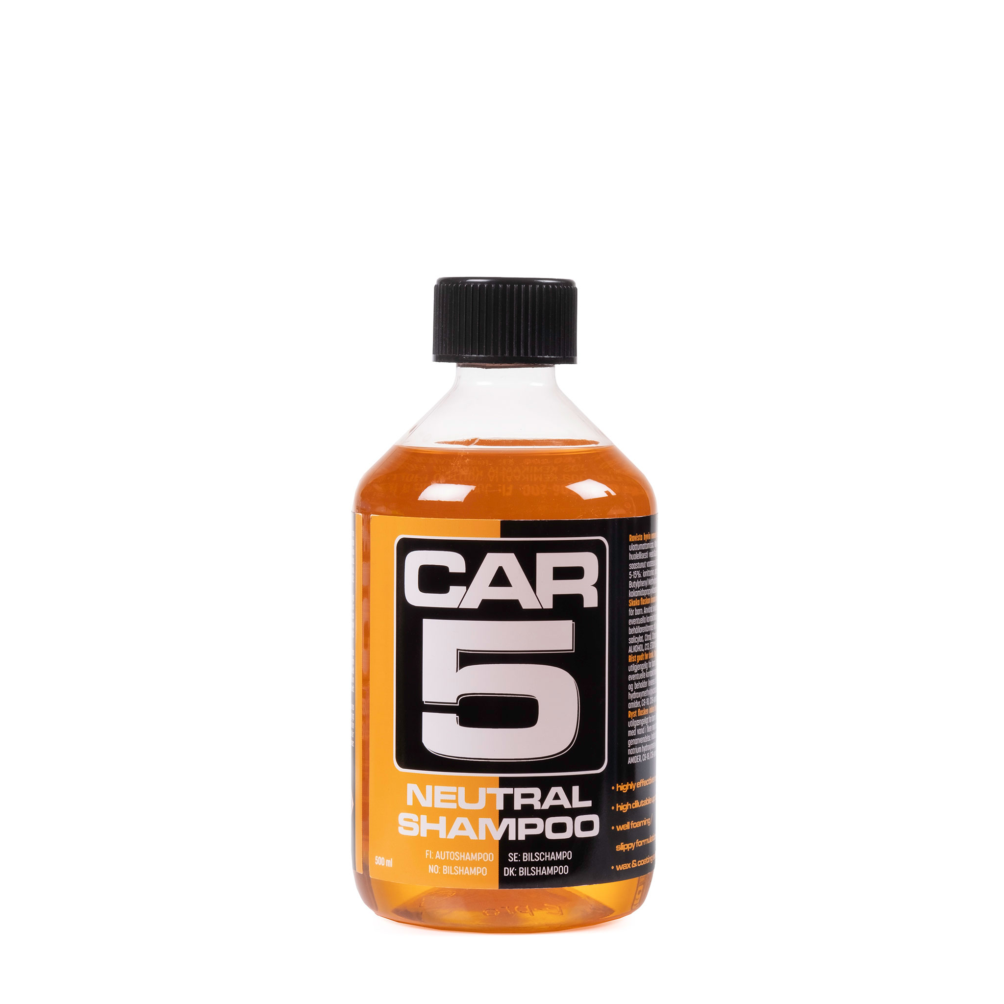 Bilschampo CAR5 Shampoo, 500 ml