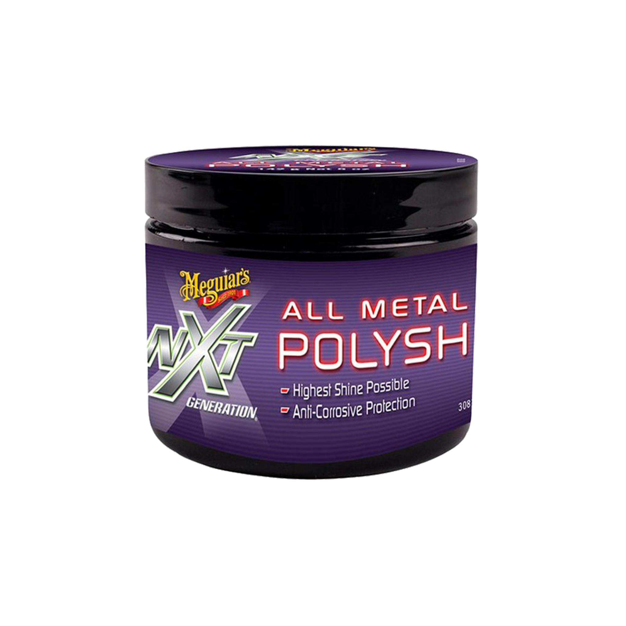 Metallpolermedel Meguiars NXT Generation Metall Polysh, 142 g