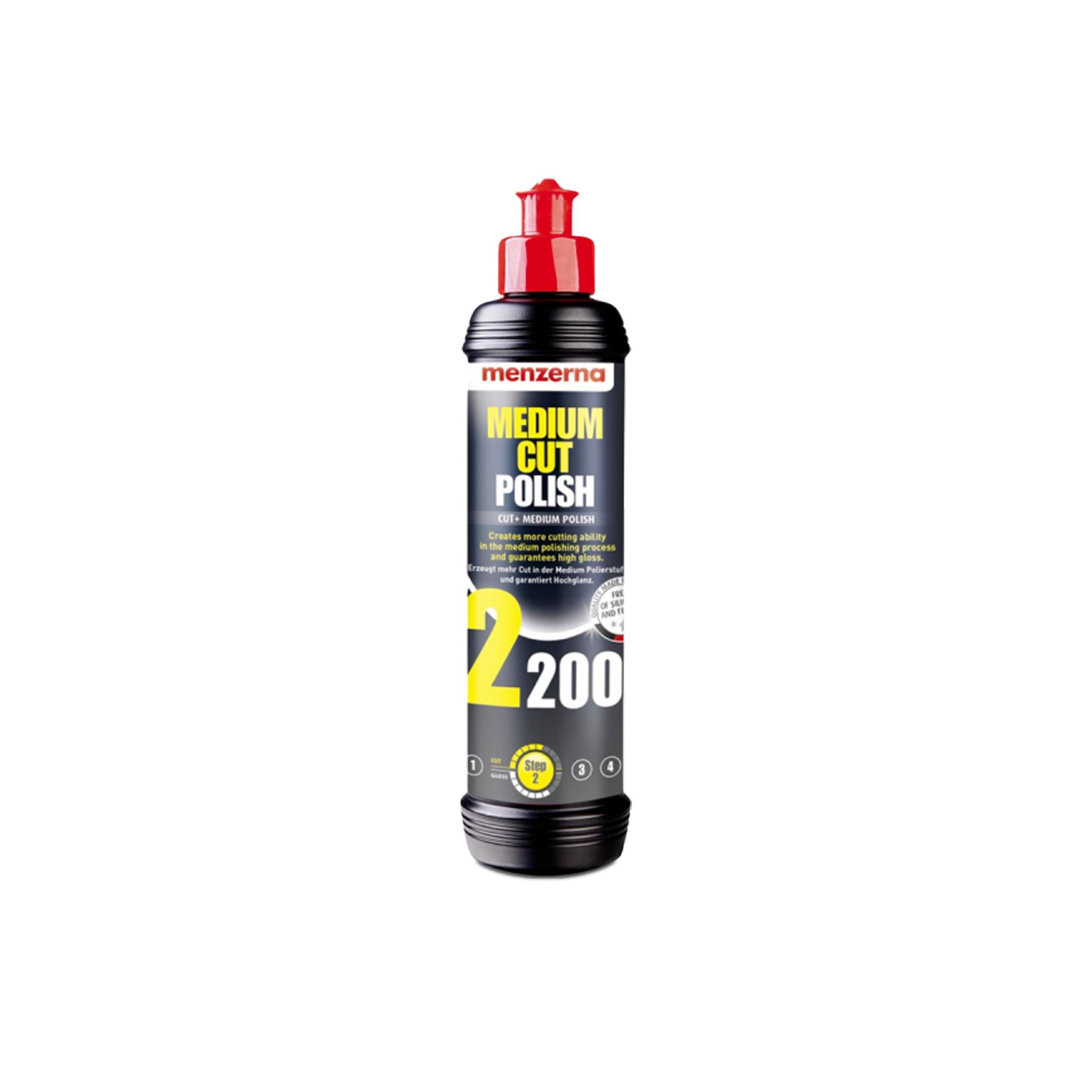 Polermedel Menzerna Medium Cut 2200- Rubbing/Polishing, 250 ml