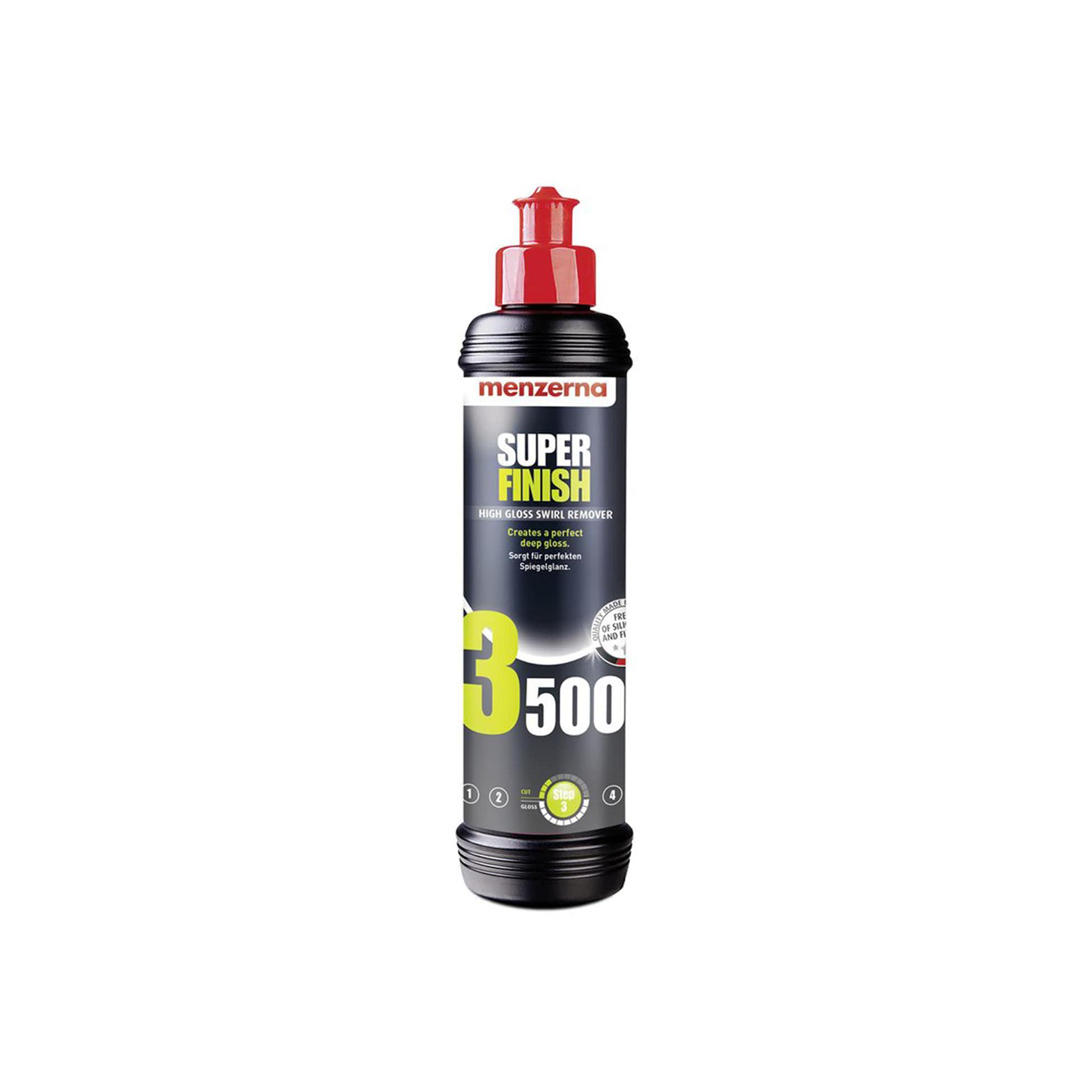 Polermedel Menzerna Super Finish 3500, Finishing, 250 ml
