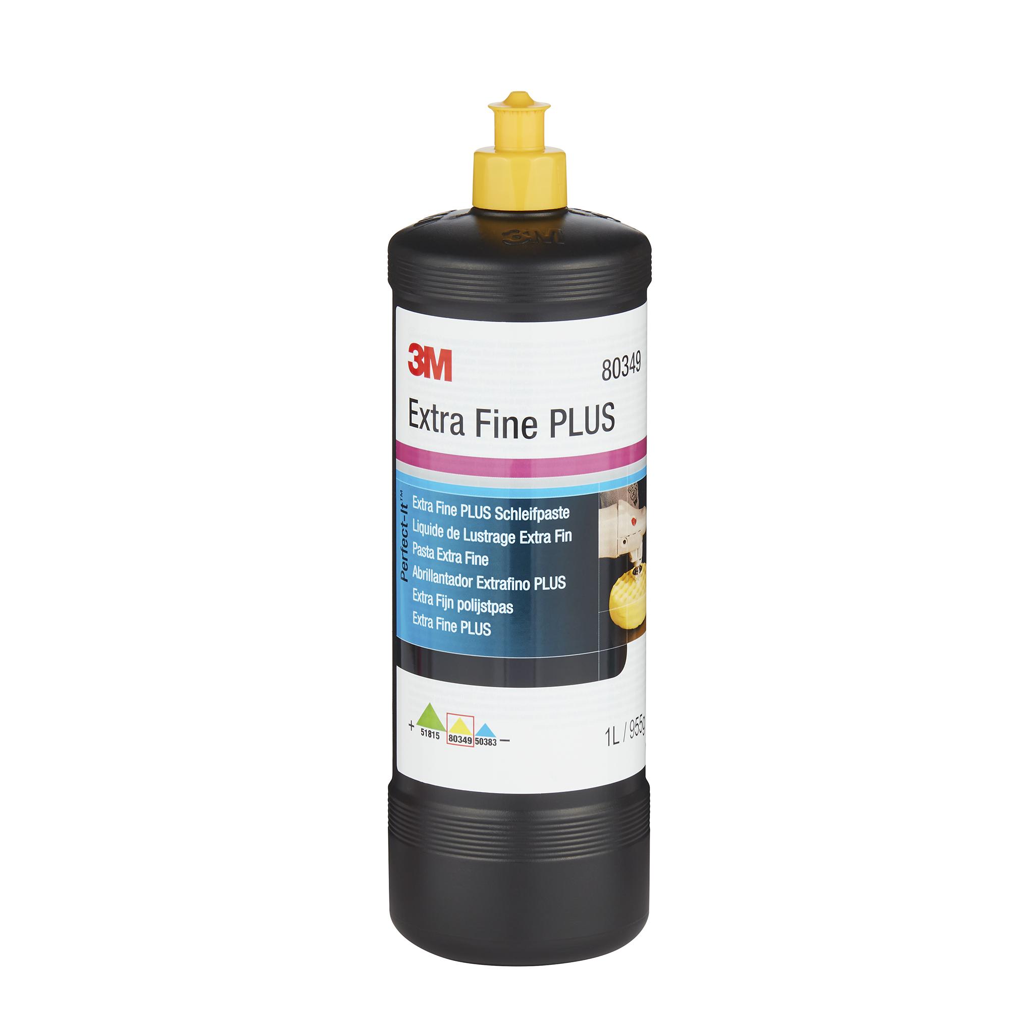 Polermedel 3M Gul kork Extra Fine Plus, Rubbing / Polishing, 1000 g