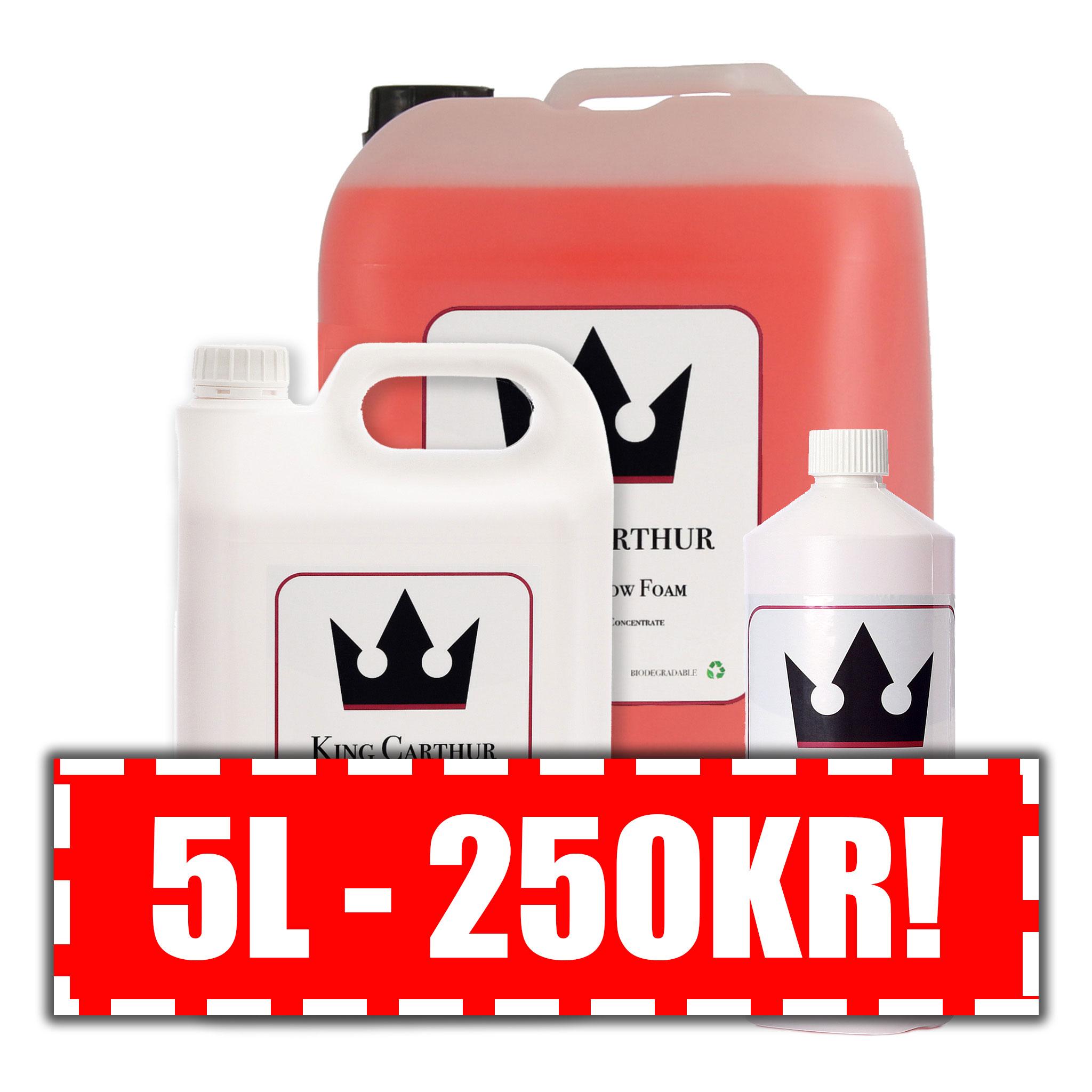 Förtvättsmedel King Carthur Control Snow Foam, 25000 ml