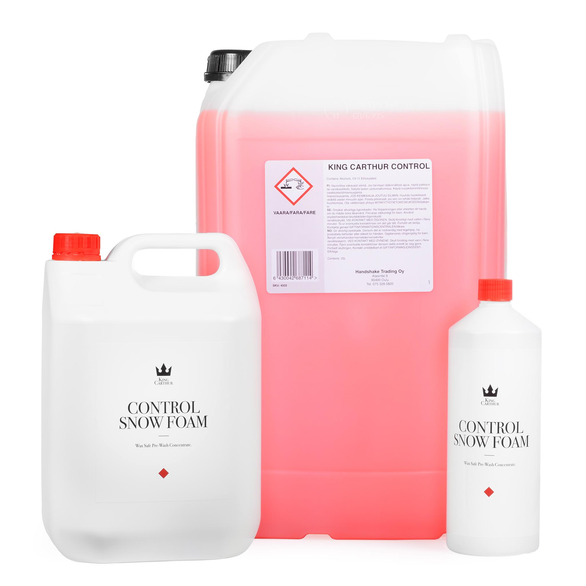Förtvättsmedel King Carthur Control Snow Foam, 5000 ml