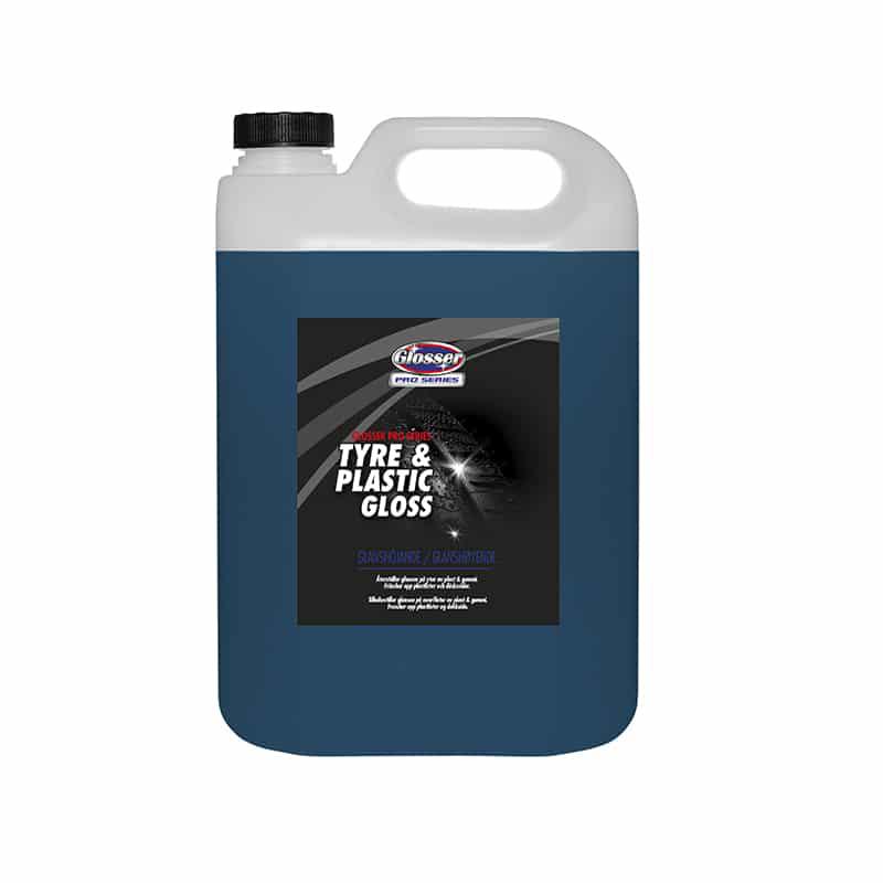Däckglans Glosser Pro Series Tyre & Plastic Gloss, 5000 ml