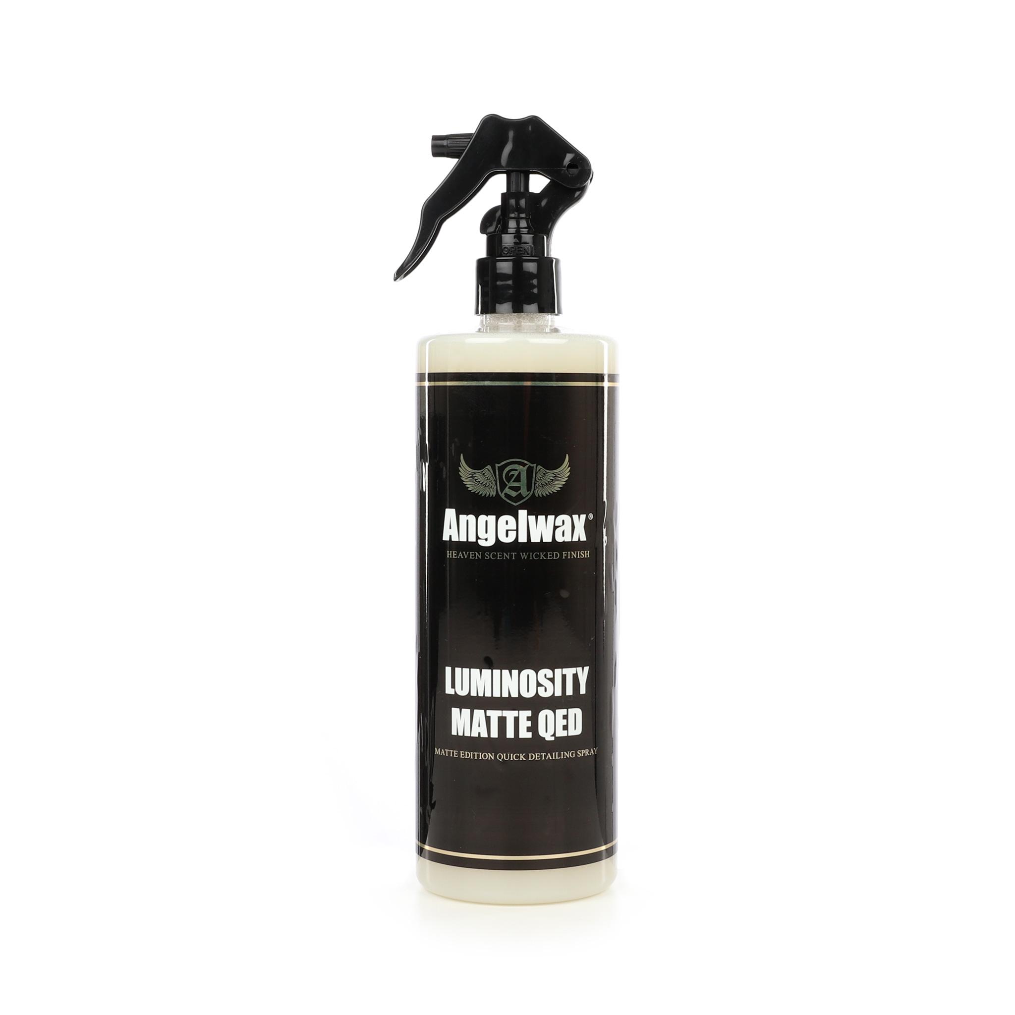 Rengörande snabbvax Angelwax Luminosity Matte QED, 500 ml