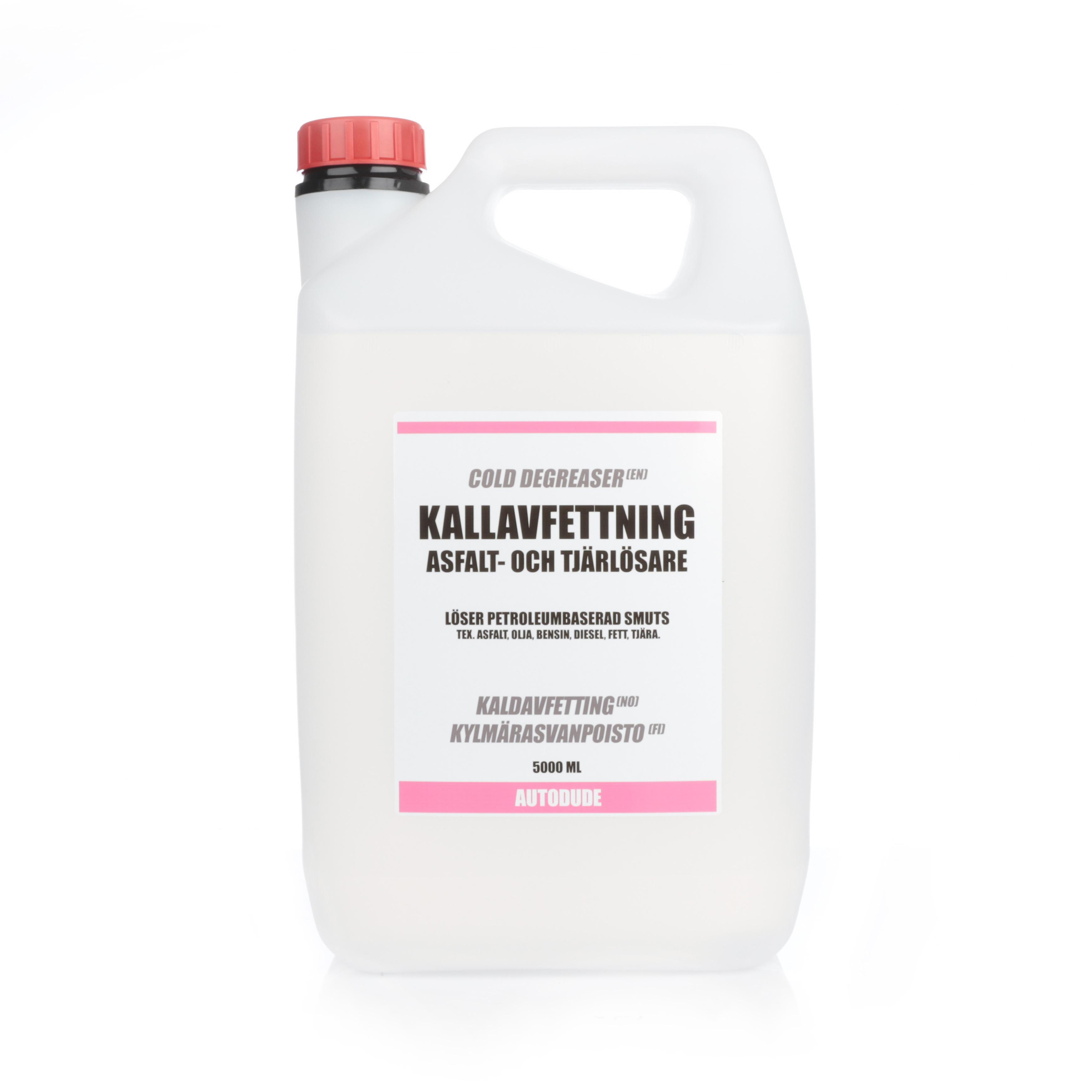 Asfaltslösare Autodude's Kallavfettning, 5000 ml / Dunk