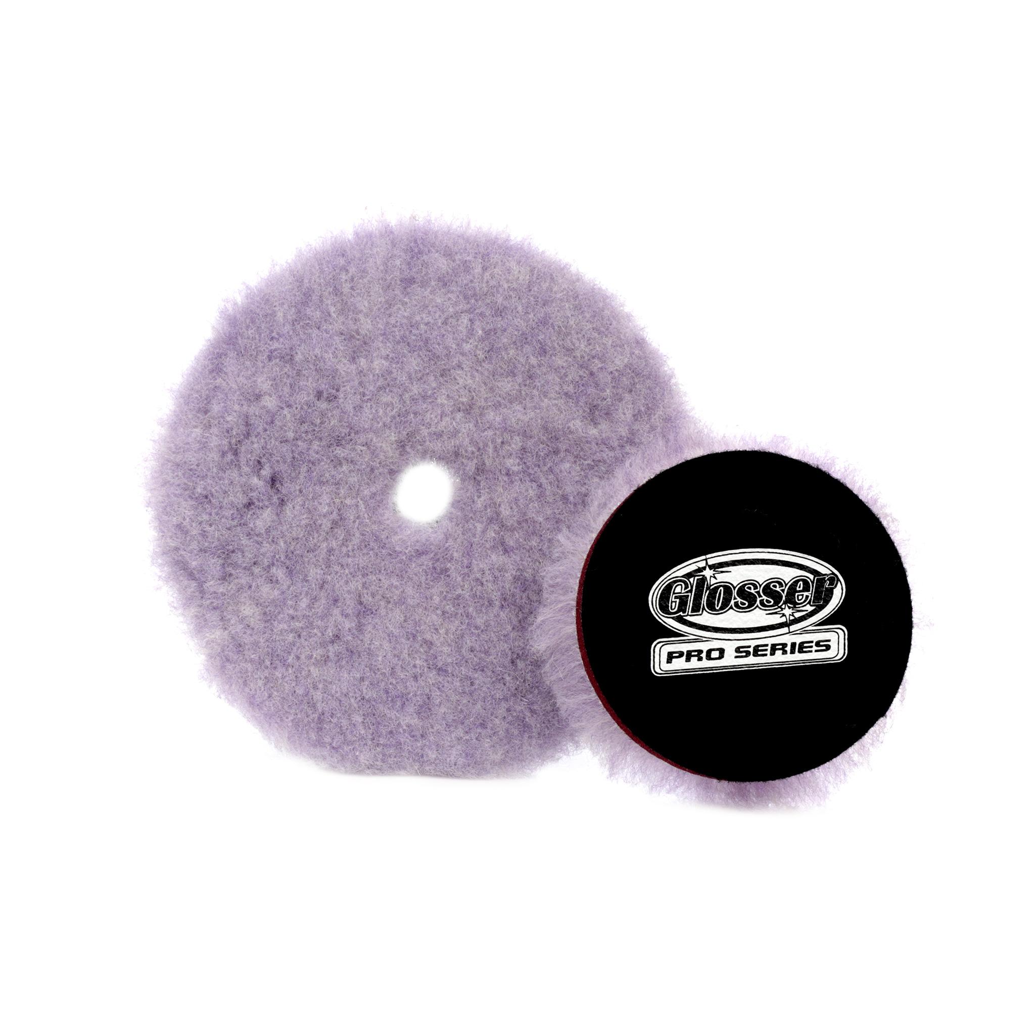 Ullrondell GlosserPro Wool Polishing Pad, Extreme Cut, 3
