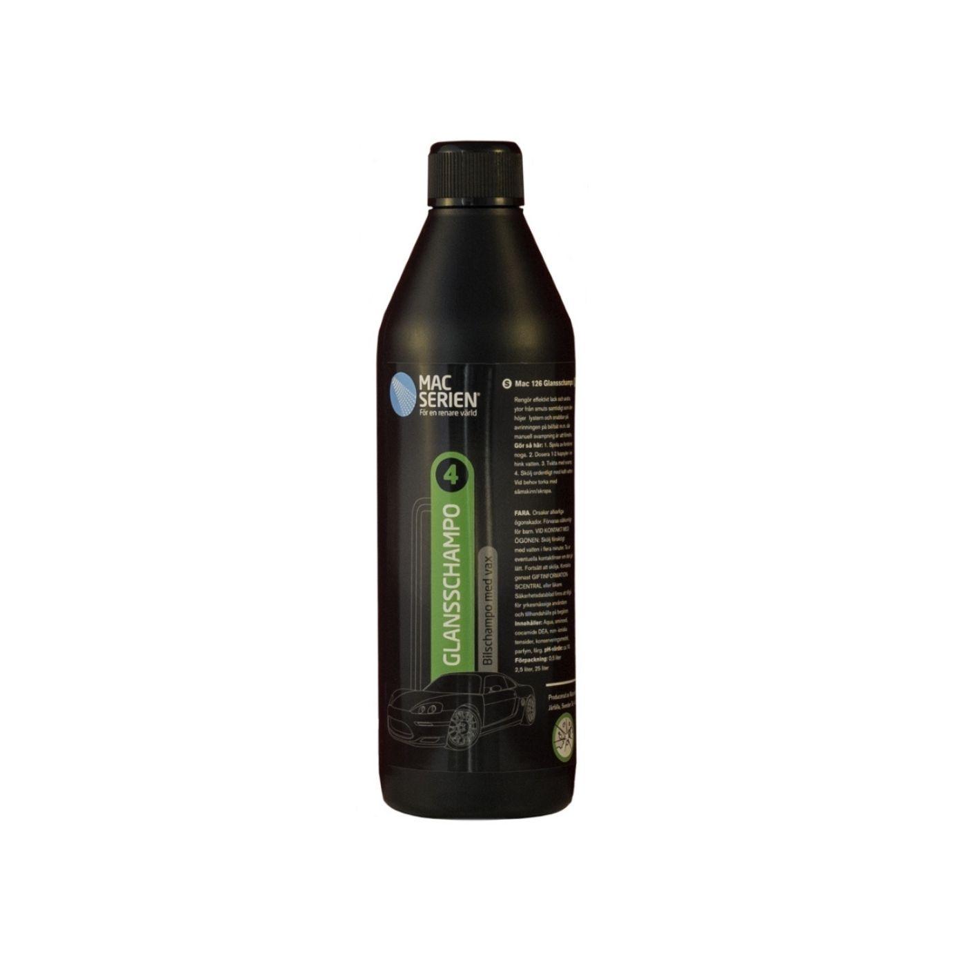 Bilschampo Mac 126 Glansschampo, 500 ml
