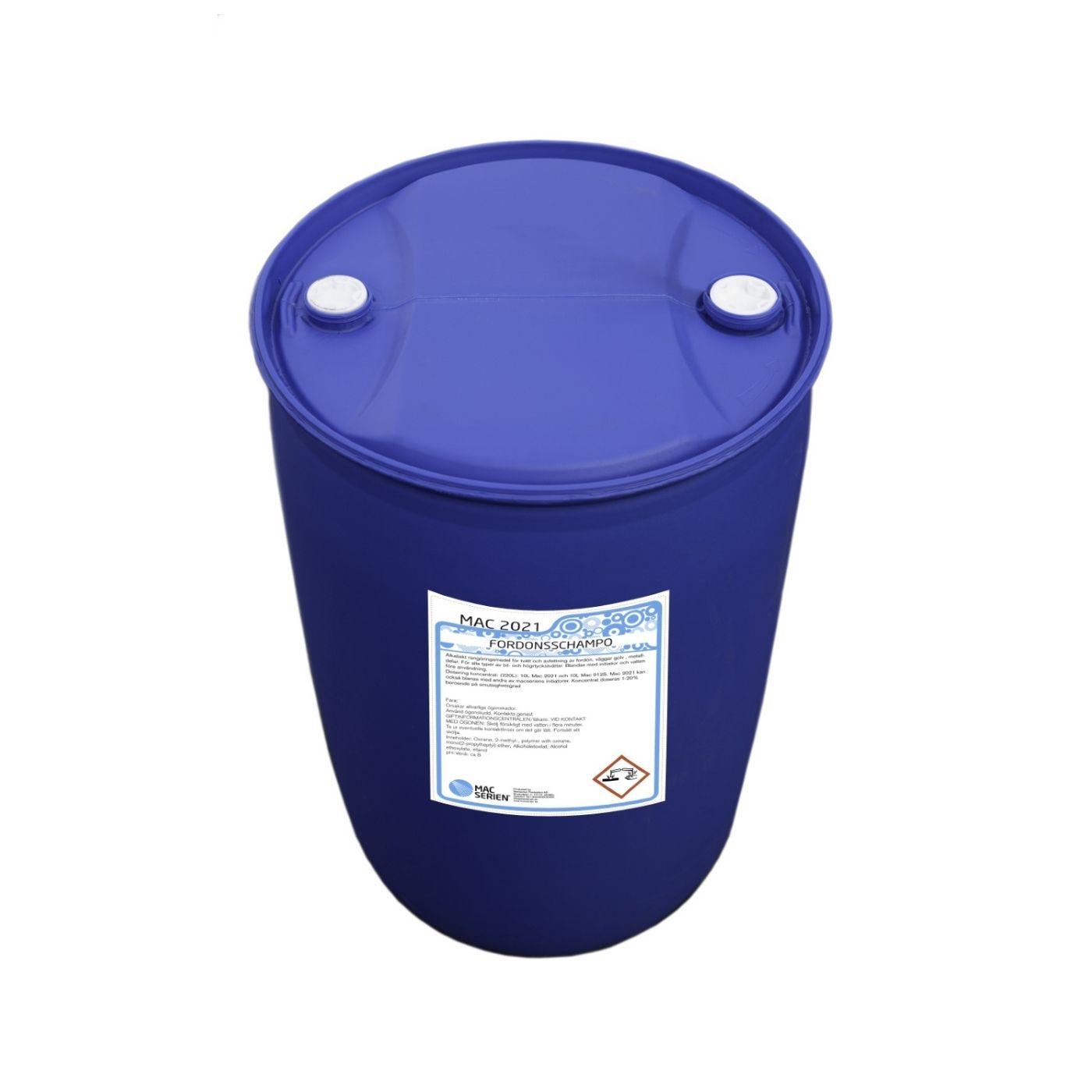 Bilschampo Mac 2021 Alkaliskt Fordonsschampo, 210 000 ml