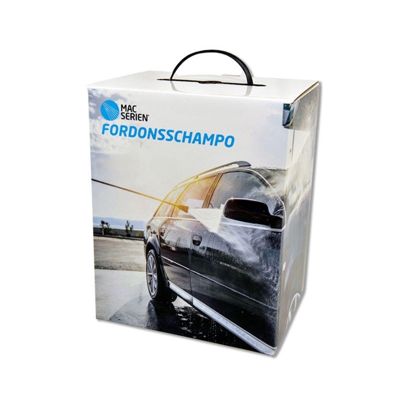 Bilschampo Mac Fordonsschampo Box, 2 x 2500 ml