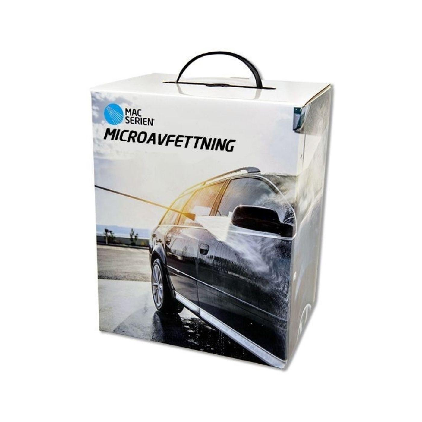 Förtvättsmedel Mac Microavfettning Box, 2 x 2500 ml