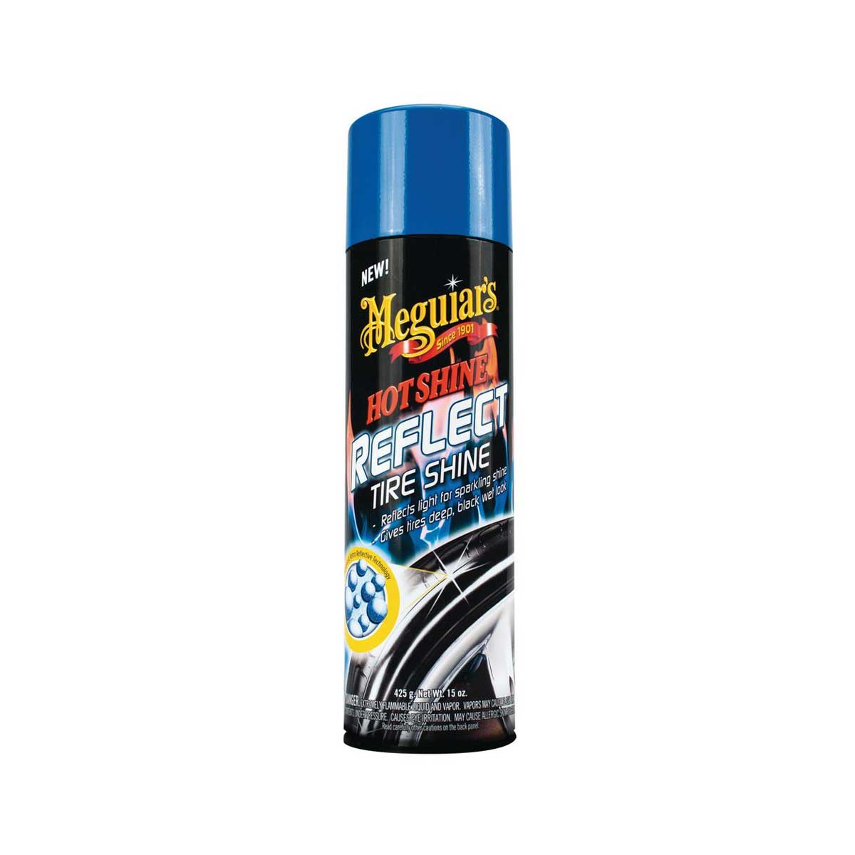 Däckglans Meguiars Hot Shine Reflect Tire Shine, 425 g