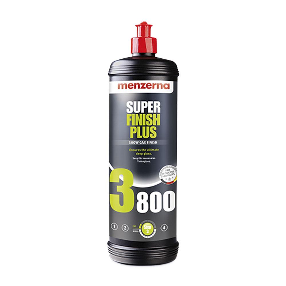 Polermedel Menzerna Super Finish Plus 3800, Finishing, 1000 ml
