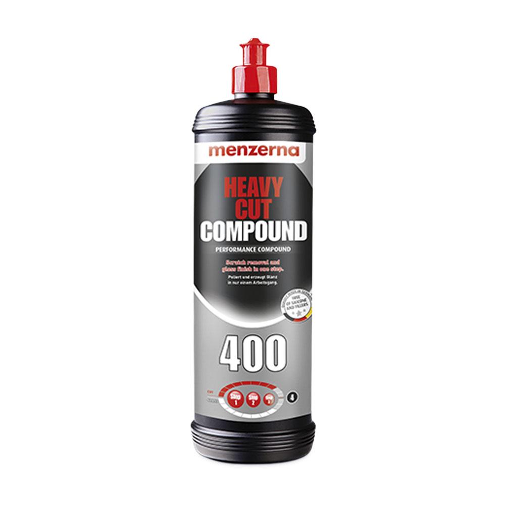 Polermedel Menzerna Heavy Cut 400, Grovrubbing, 1000 ml