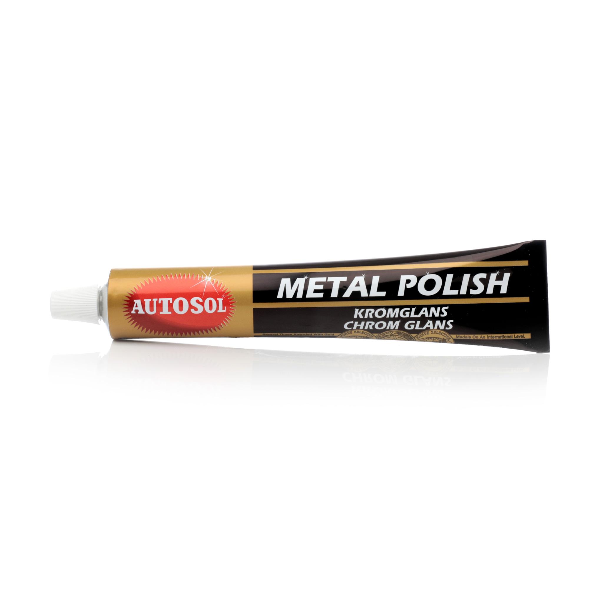 Metallpolermedel Autosol Kromglans, 75 ml