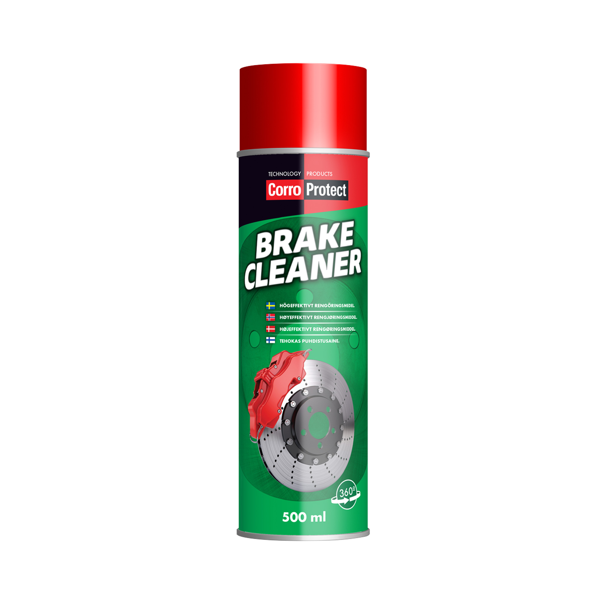 Bromsrengöring CorroProtect Brake Cleaner, 500 ml, 6
