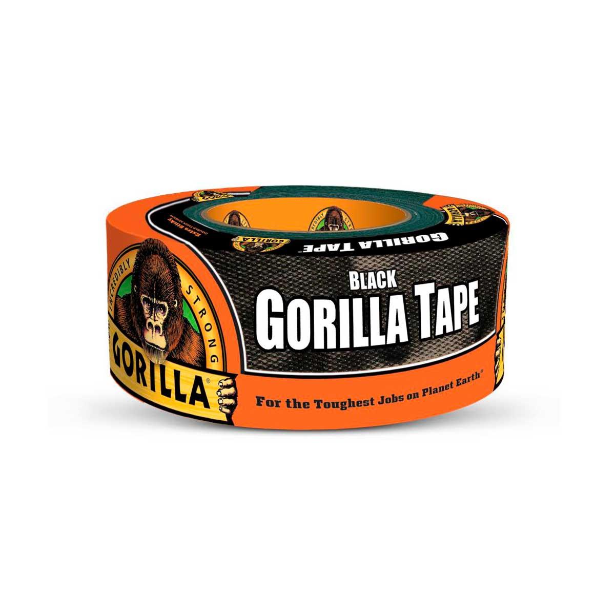 Vävtejp Gorilla Tape, Svart, 48 mm x 32 m