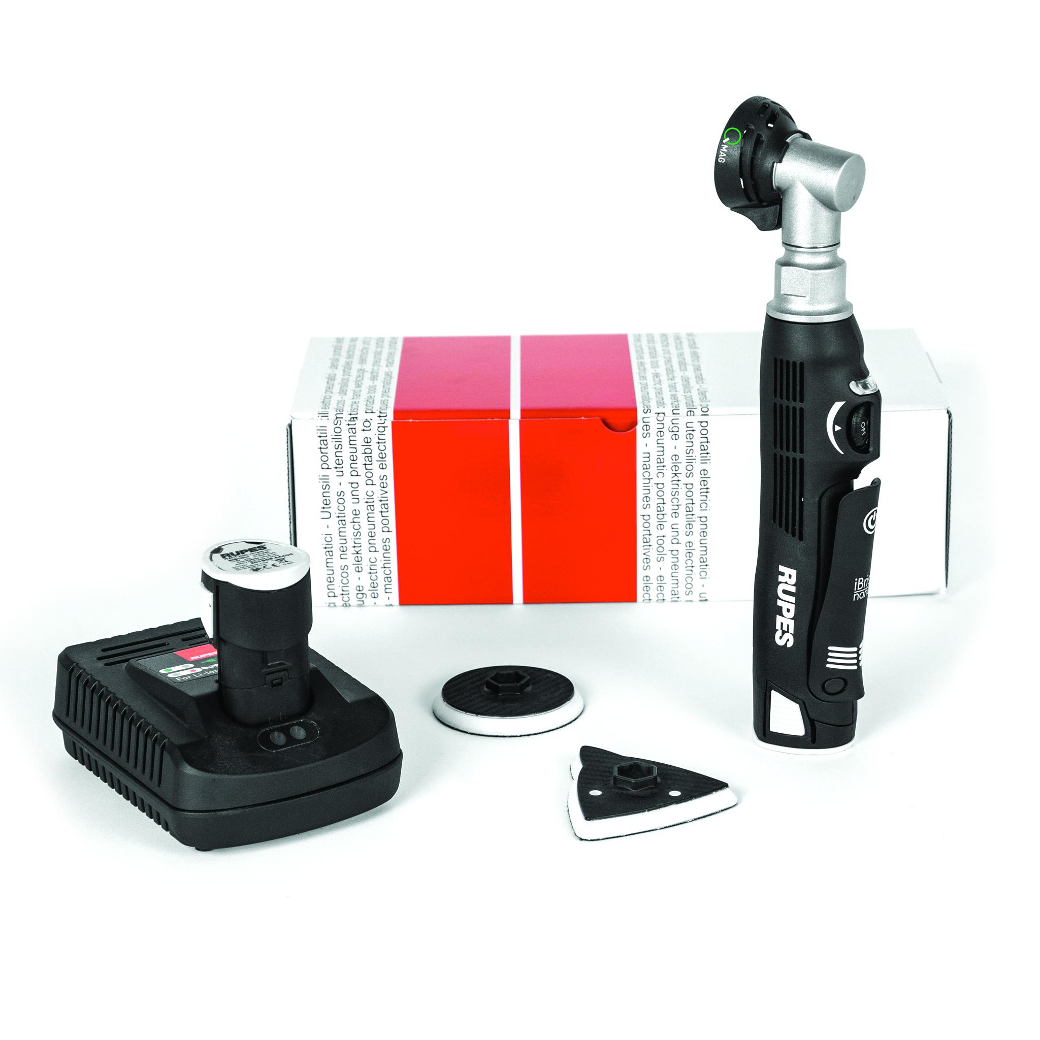 Slipmaskin Rupes HQM83 Nano Q Mag Sander, Standard-paket