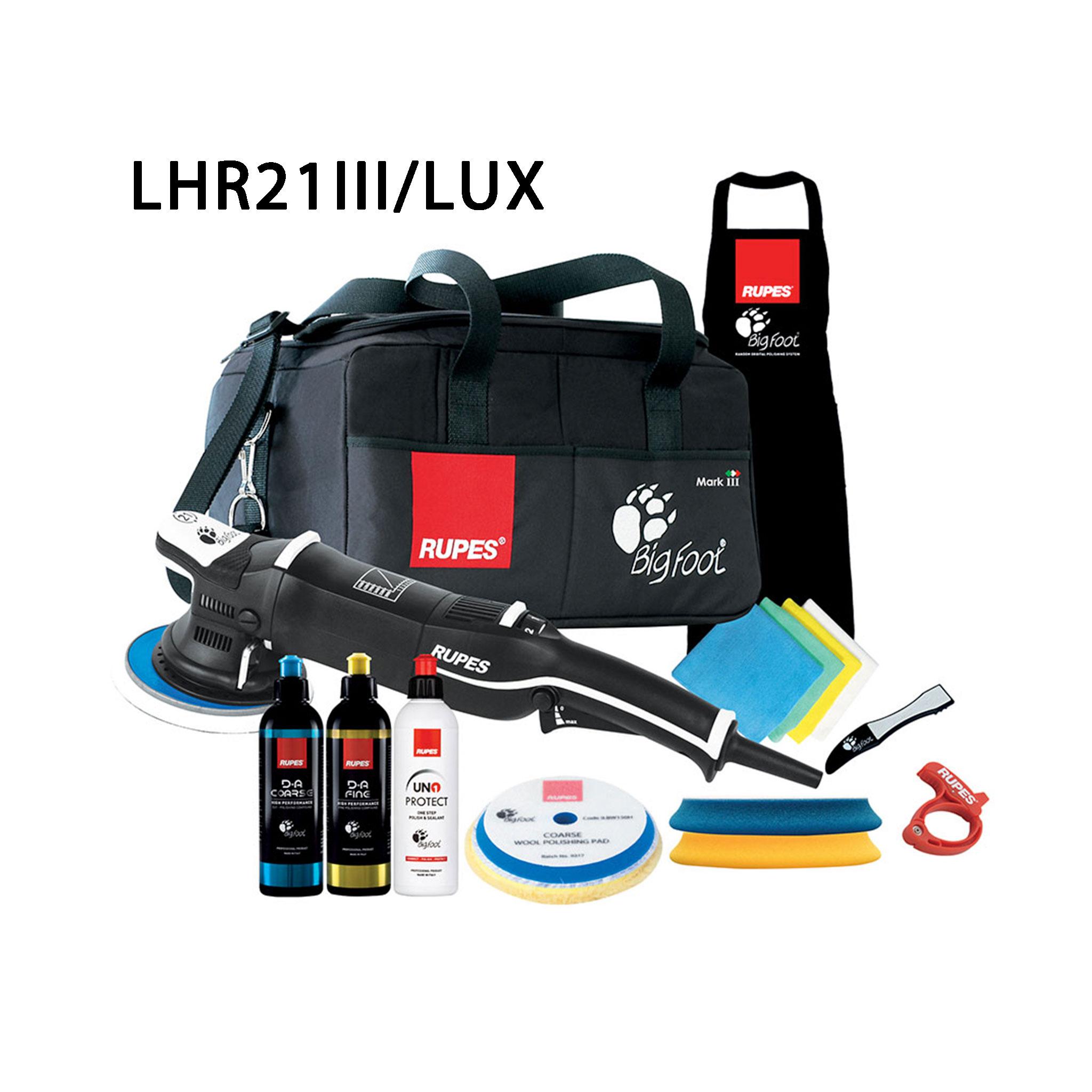 Oscillerande polermaskin Rupes LHR21 Mark III, LUX paket
