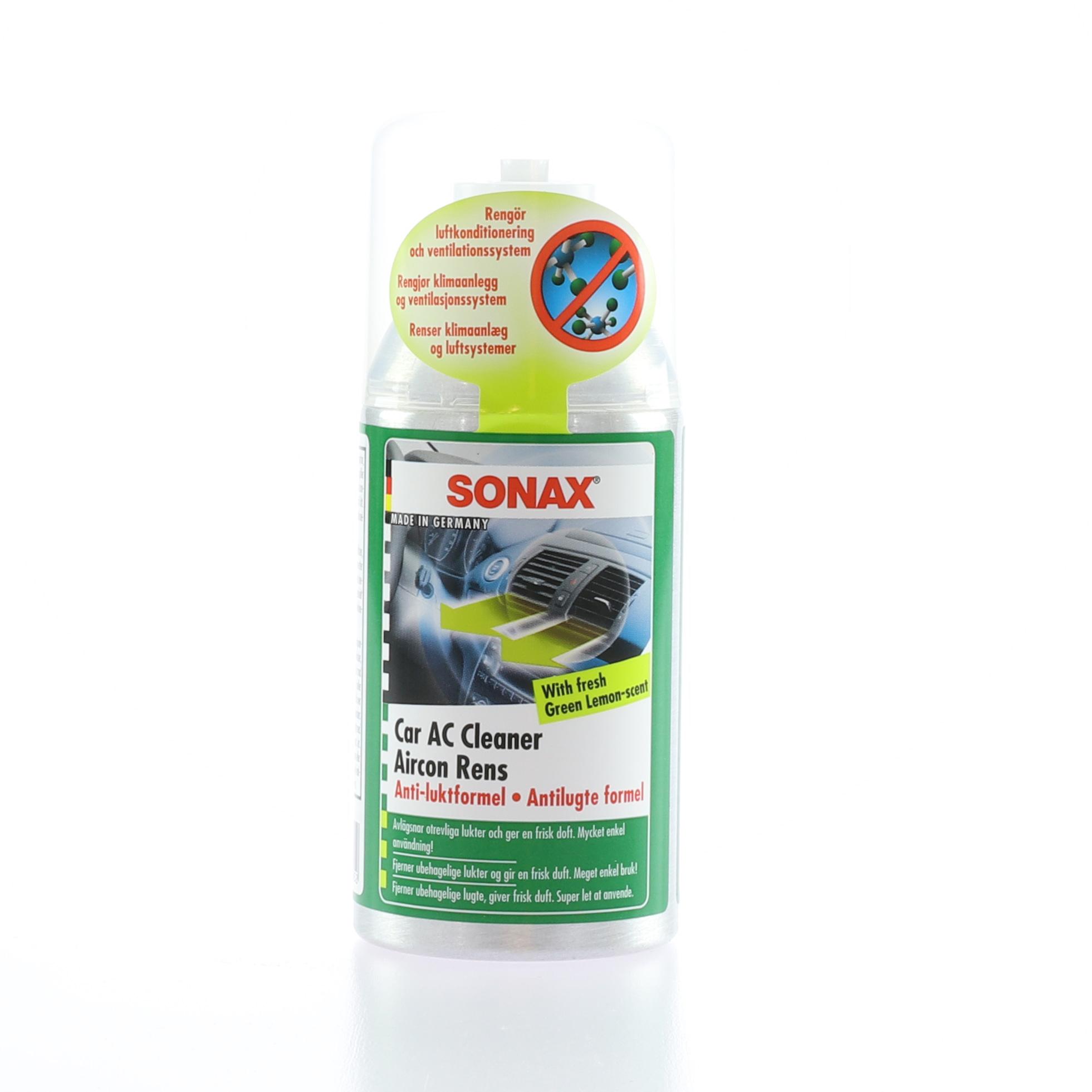 Luktborttagare Sonax Car AC Cleaner, 100 ml
