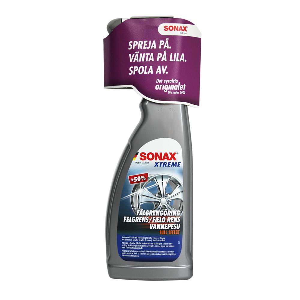 Fälgrengöring Sonax Xtreme, 1 st 5000 ml
