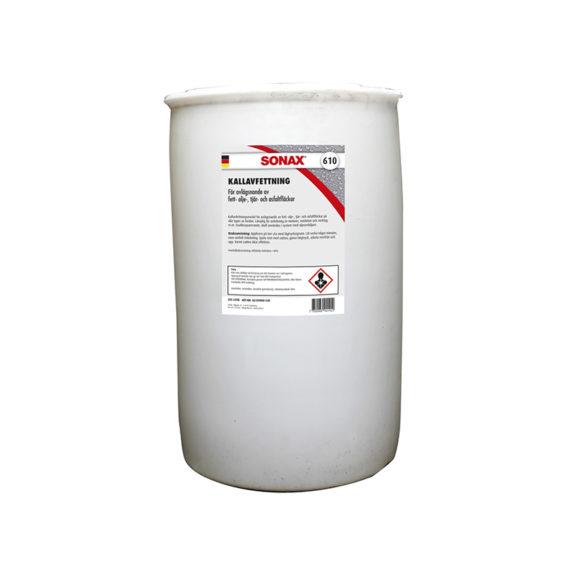Asfaltslösare Sonax Kallavfettning Kemikaliesvepet, 205 000 ml