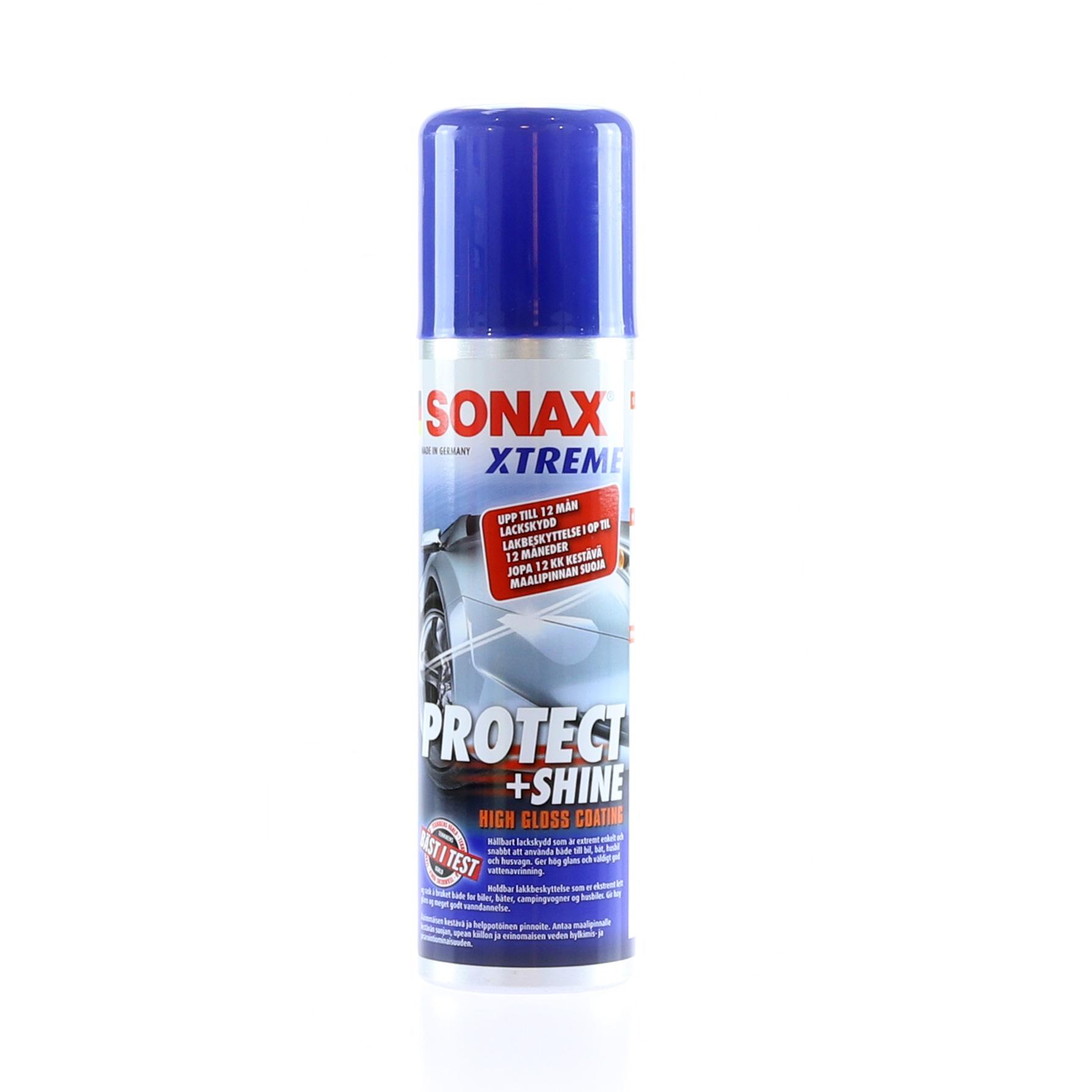 Lackbehandling Sonax Protect + Shine, 210 ml