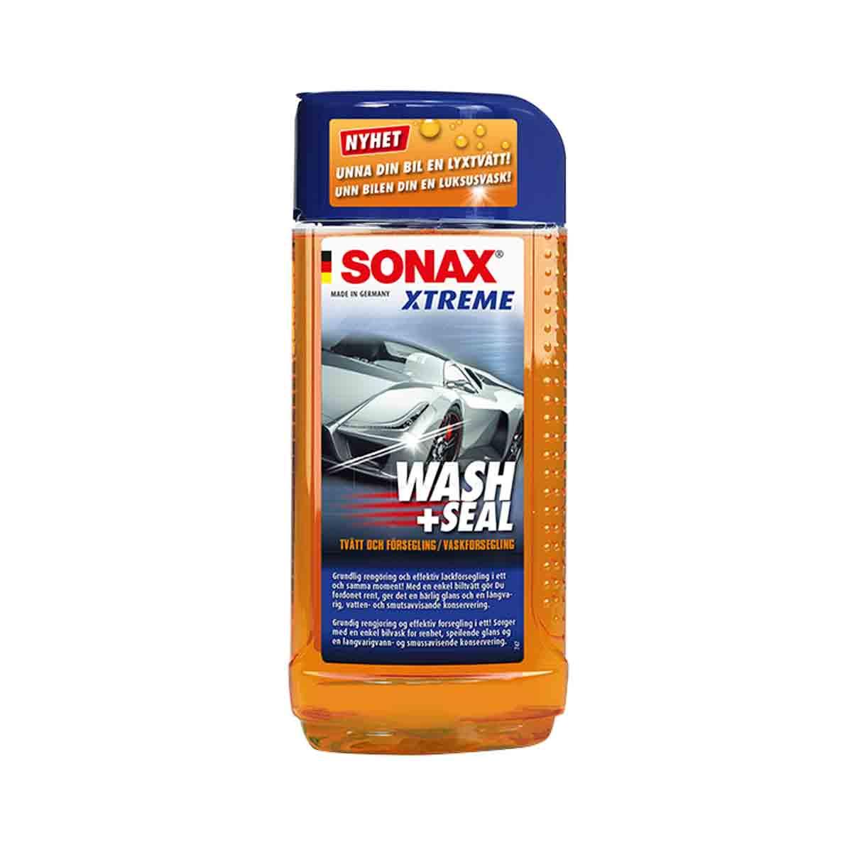 Bilschampo Sonax Xtreme Wash + Seal, 500 ml, 2 st