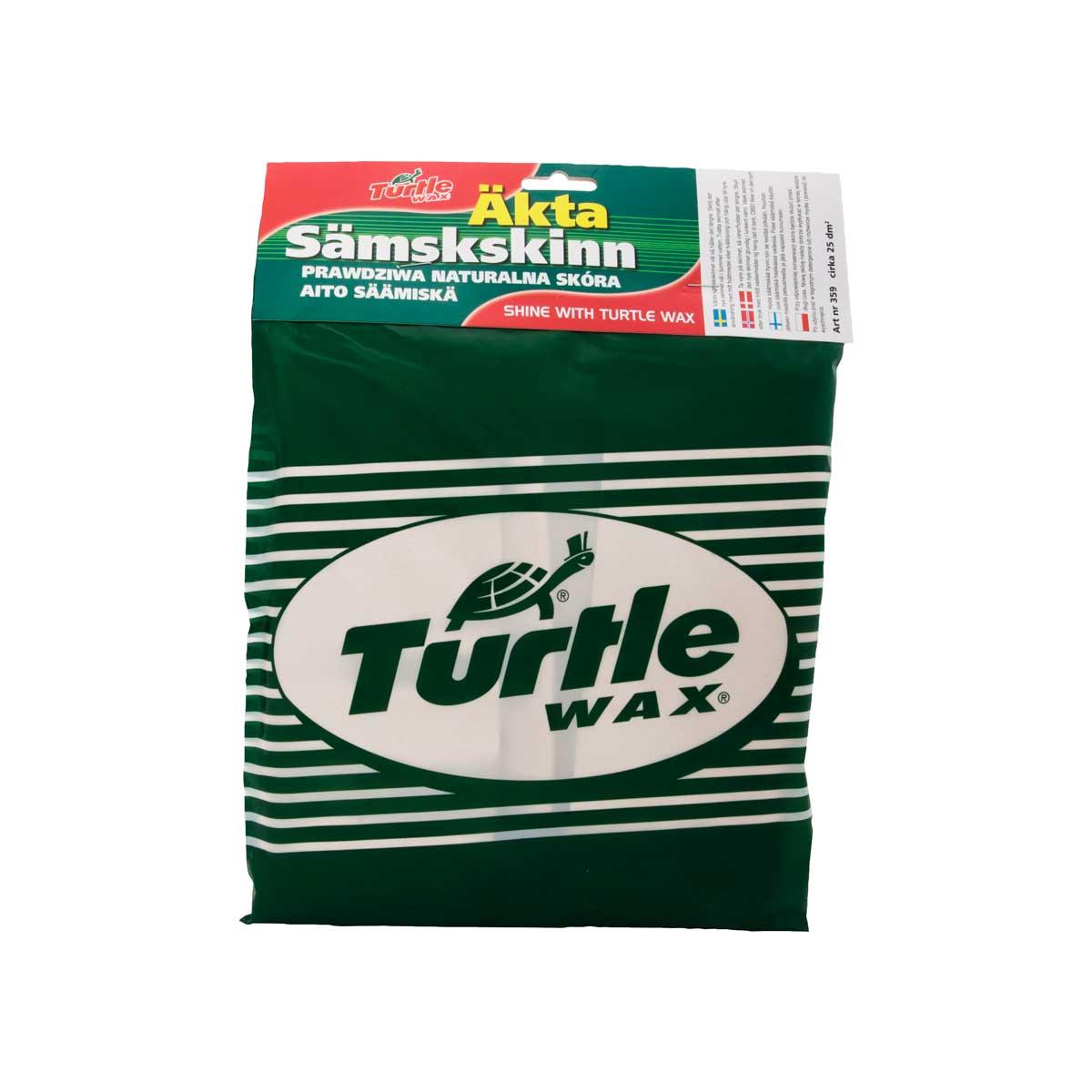 Torkduk Turtle Wax Äkta Sämskskinn