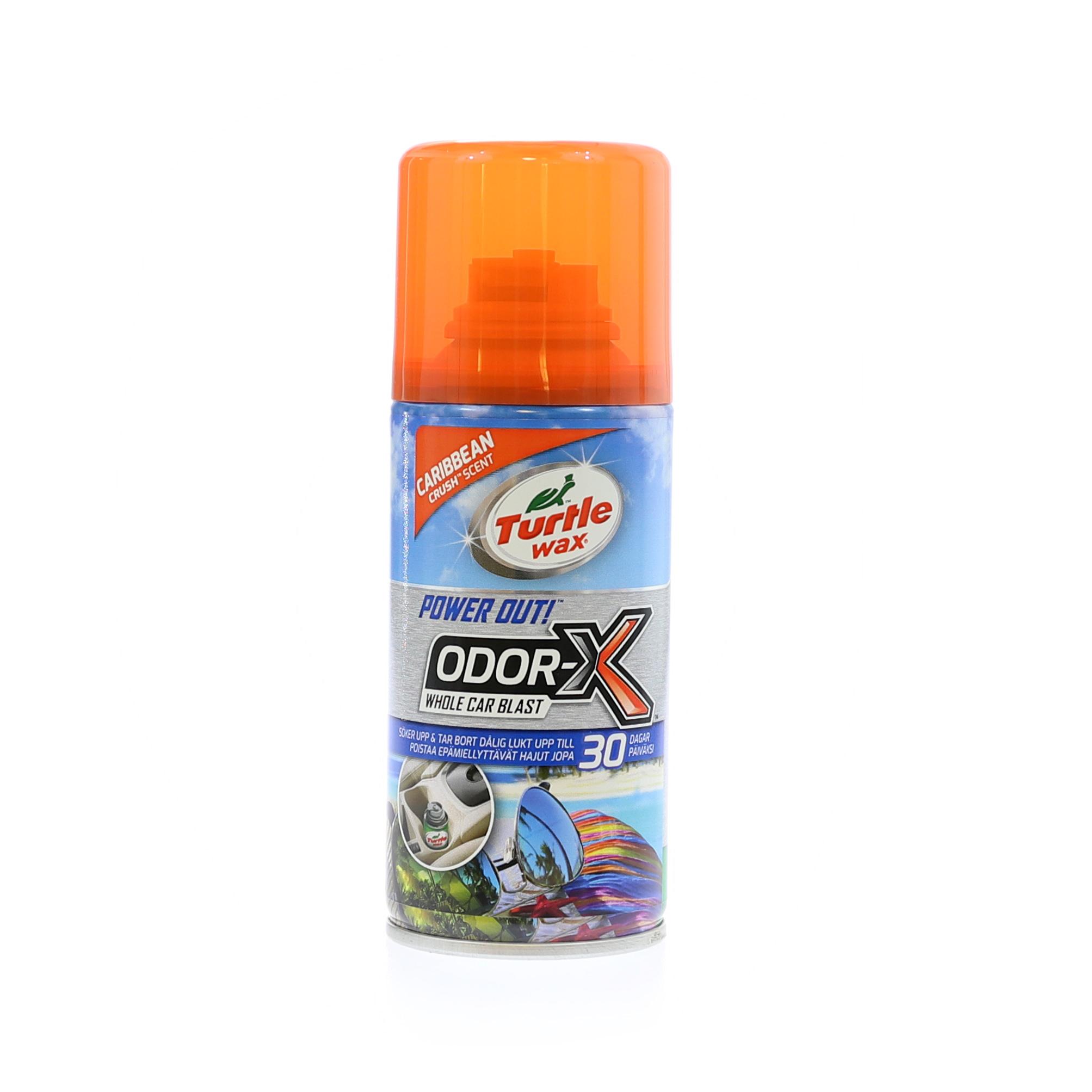 Luktborttagare Turtle Wax Odor-X Whole Car Blast, 100 ml, Caribbean Crush