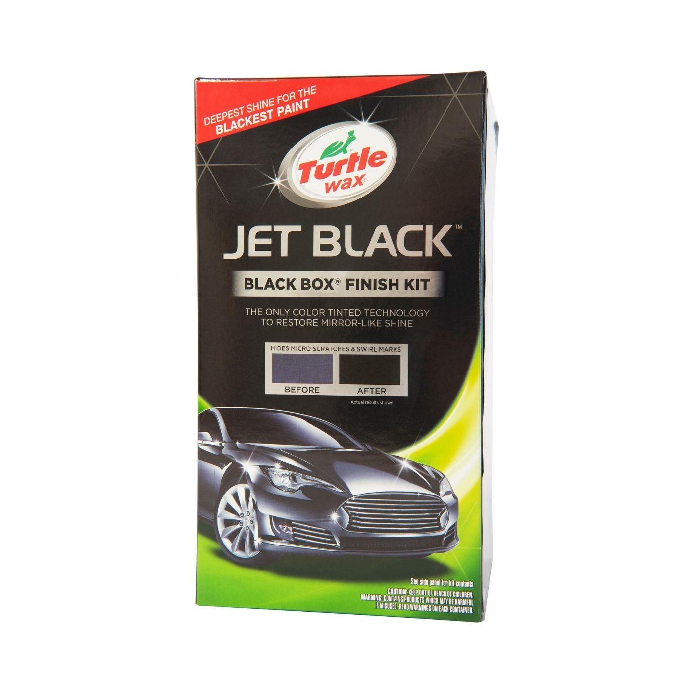 Bilvårdspaket Turtle Wax Color Magic Jet Black Box