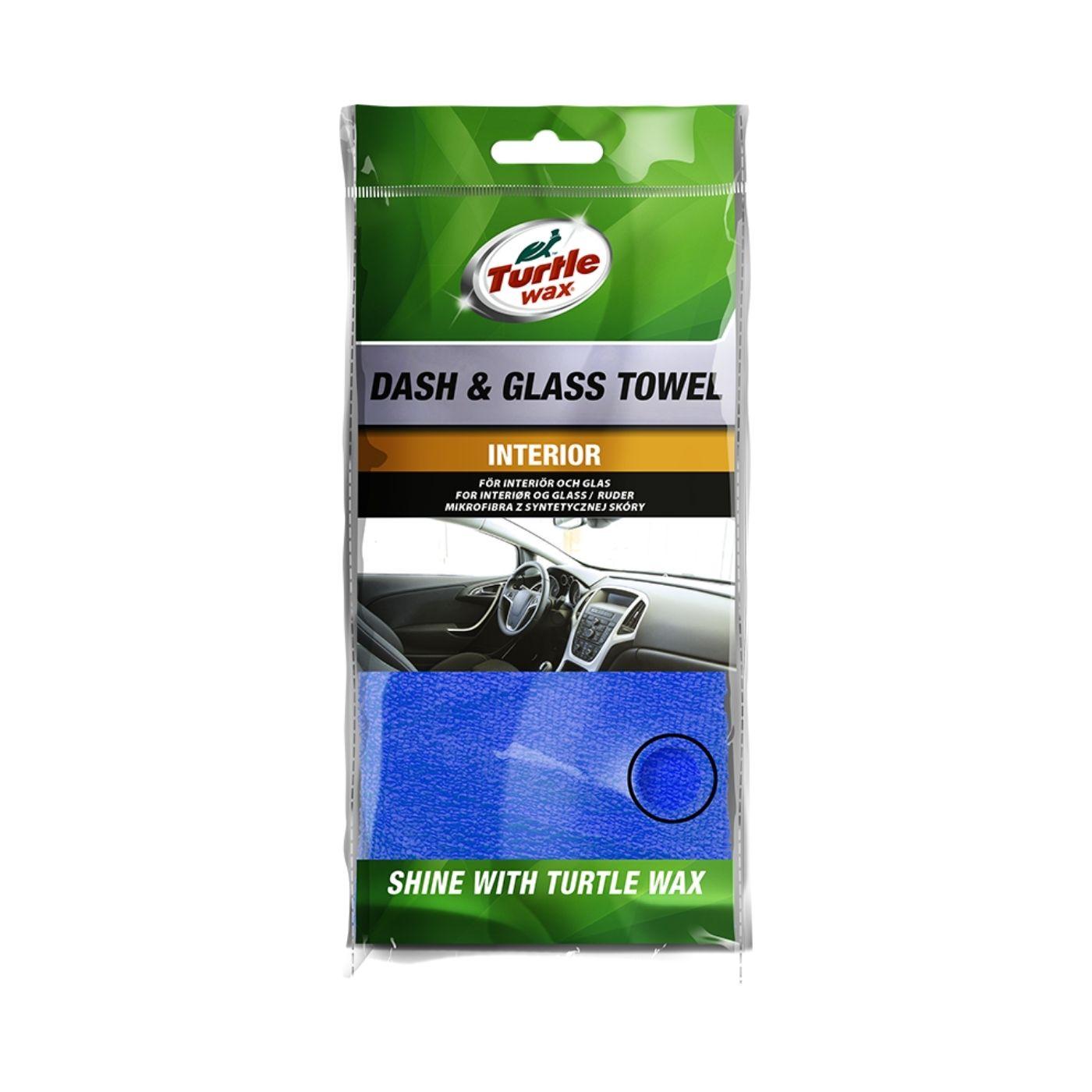 Glastorkduk Turtle Wax Dash & Glass Towel