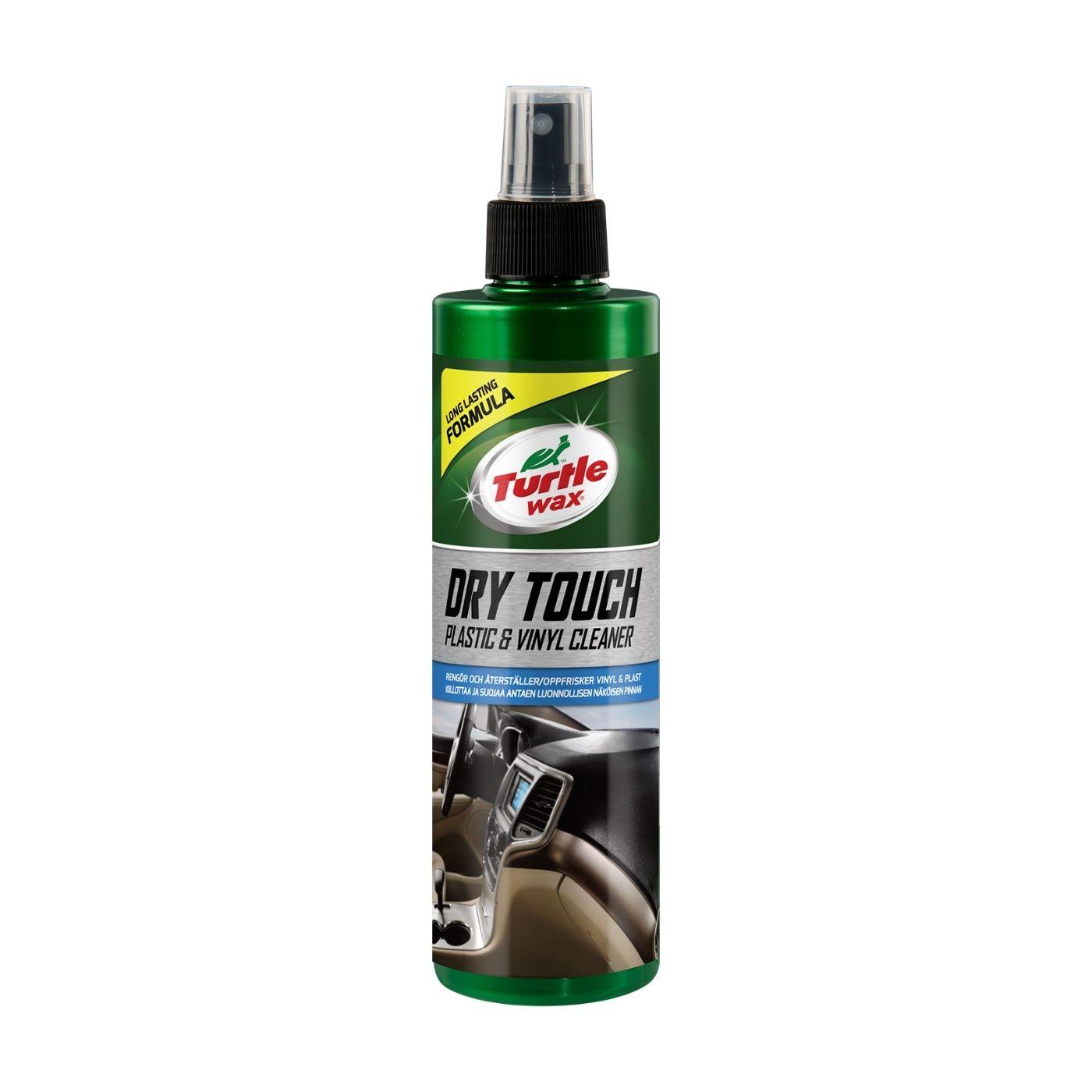 Plastbehandling Turtle Wax Dry Touch Plastic & Vinyl Cleaner, 300 ml