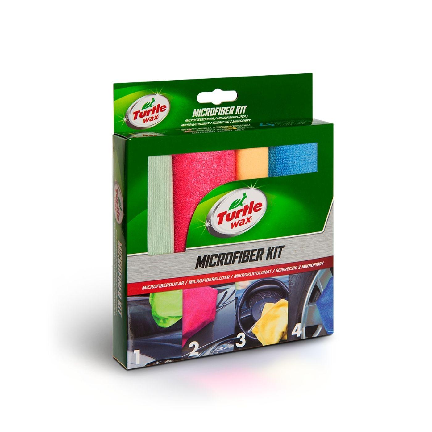 Mikrofiberdukar Turtle Wax Microfiber Kit, 4 st