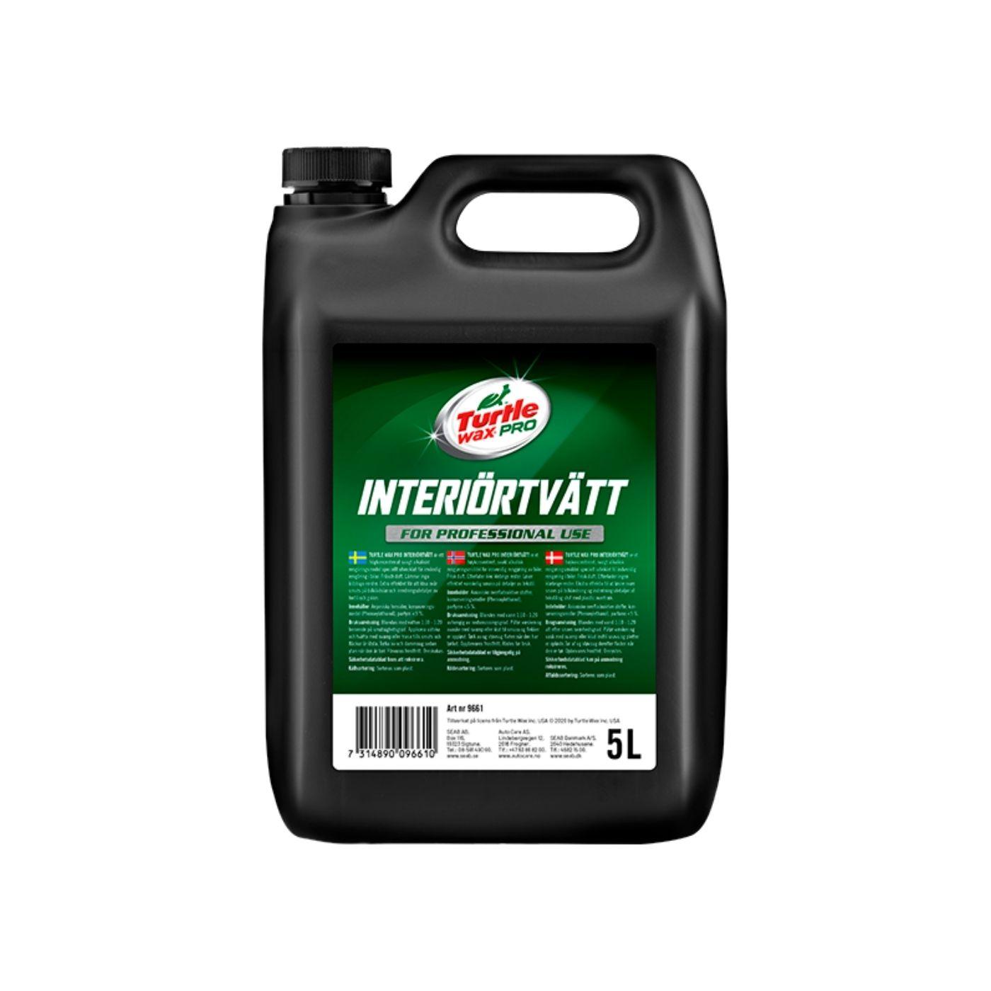 Interiörrengöring Turtle Wax Pro Interiörtvätt, 5000 ml