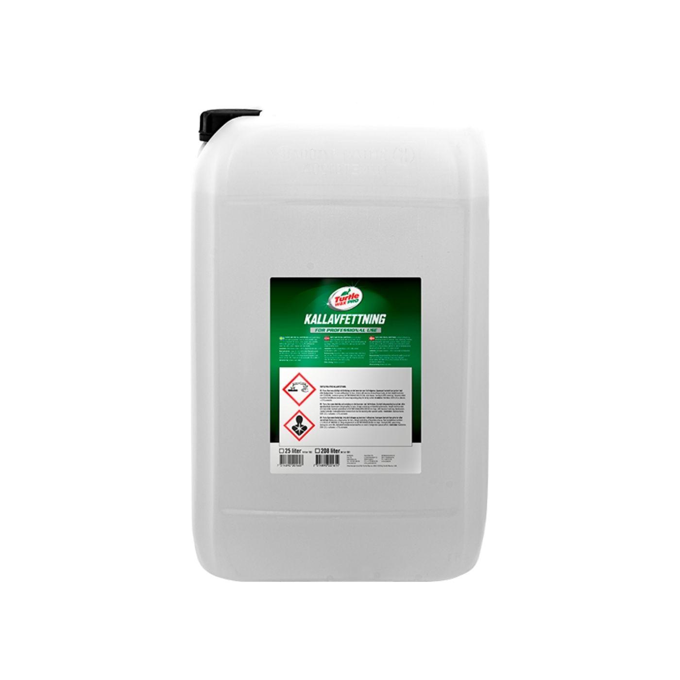 Asfaltslösare Turtle Wax Pro Kallavfettning, 25000 ml