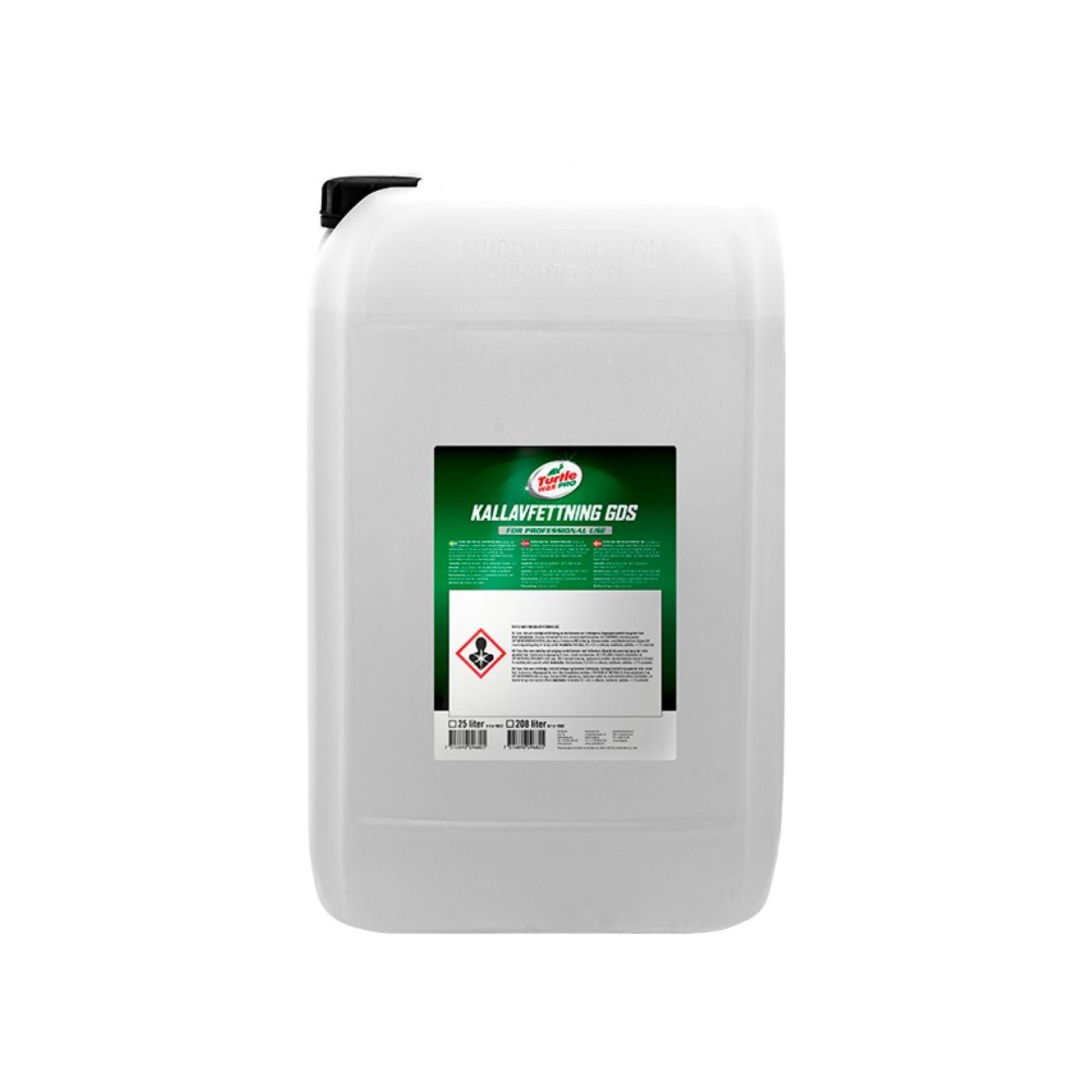 Asfaltslösare Turtle Wax Pro Kallavfettning GDS, 25000 ml