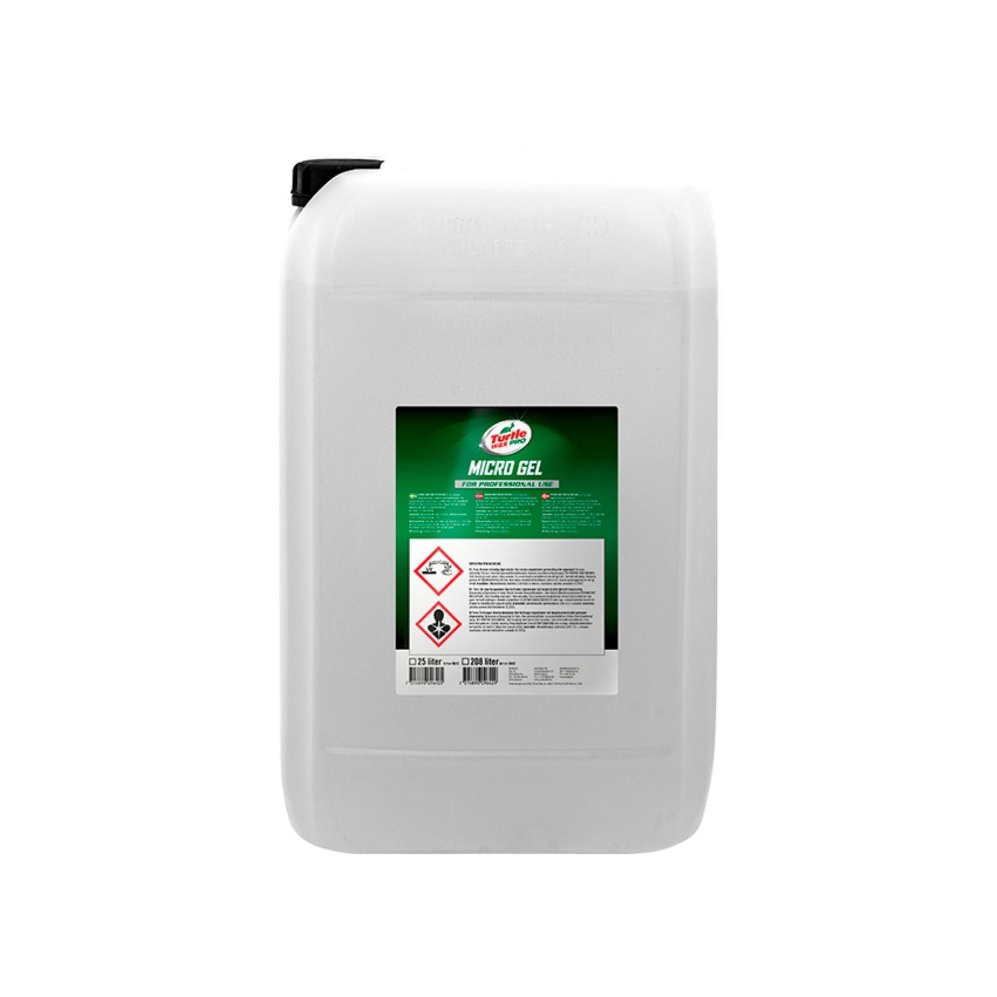 Förtvättsmedel Turtle Wax Pro Micro Gel, 25000 ml