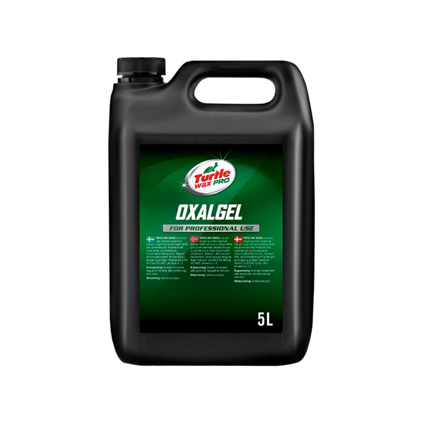 Flygrostlösare Turtle Wax Pro Oxalgel, 5000 ml