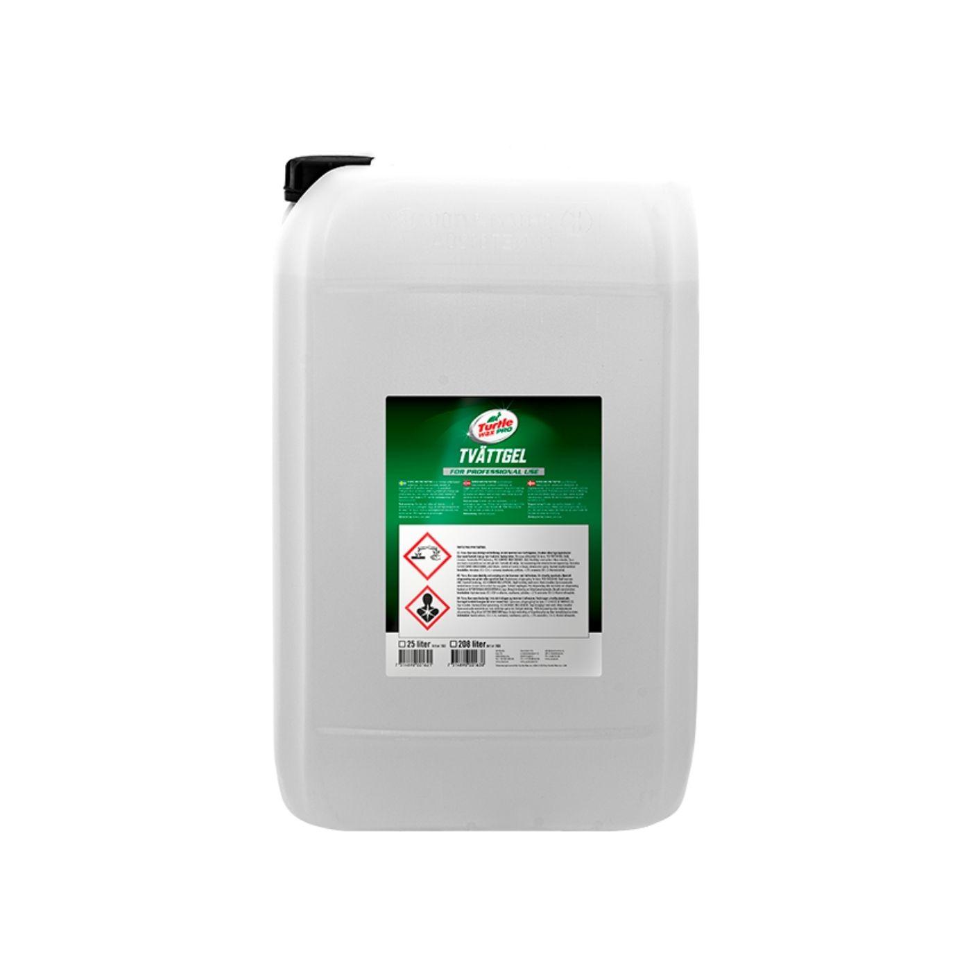 Förtvättsmedel Turtle Wax Pro Tvättgel, 25000 ml