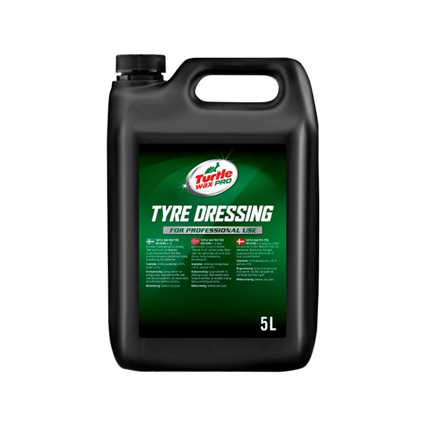 Däckglans Turtle Wax Pro Tyre Dressing, 5000 ml