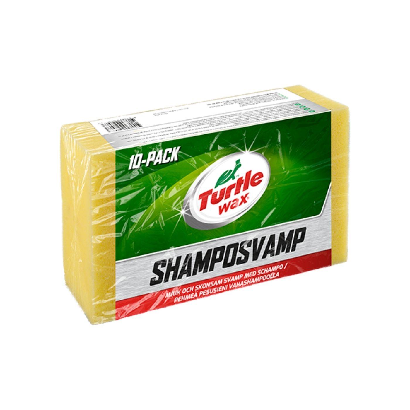 Tvättsvamp Turtle Wax Schamposvamp, 10 st