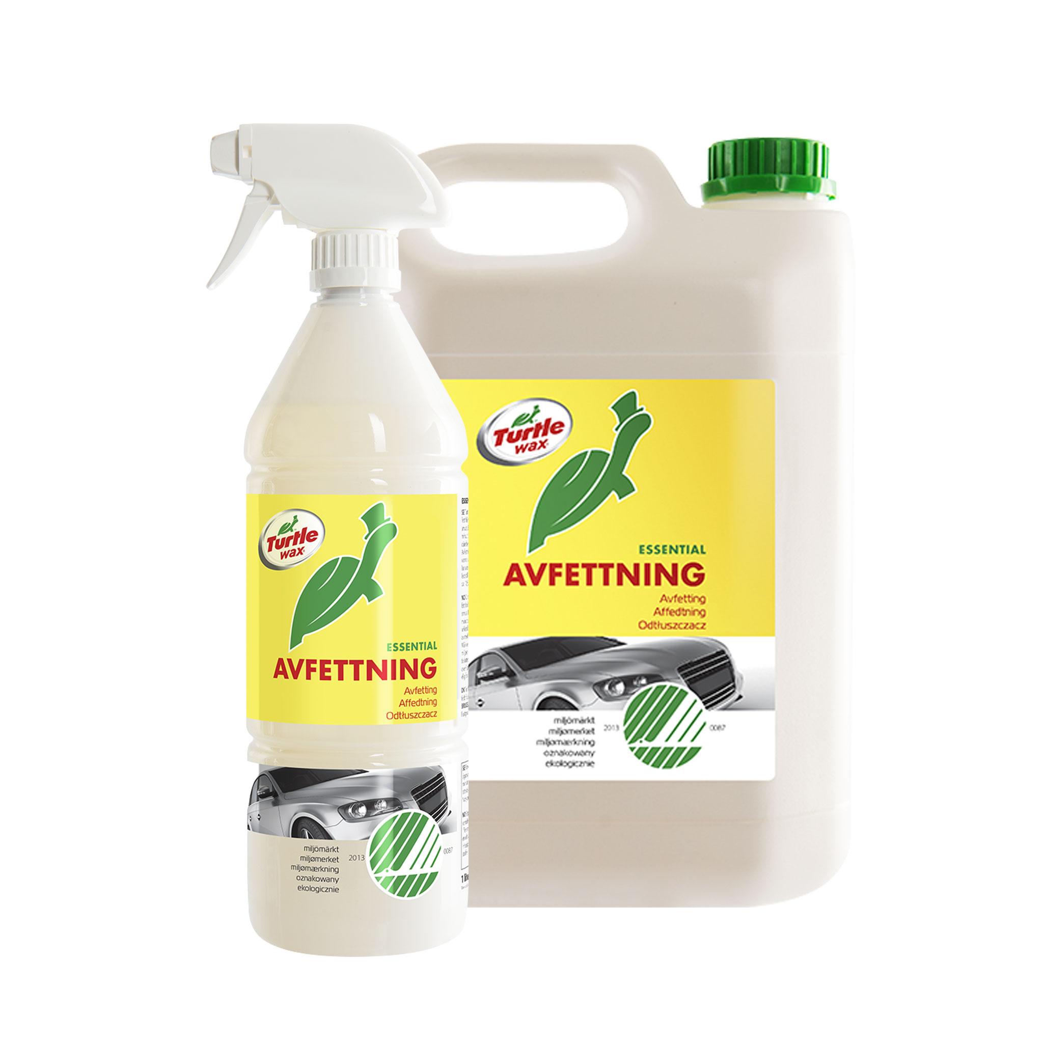 Förtvättsmedel Turtle Wax Avfettning Svanenmärkt, 1000 ml / Spray