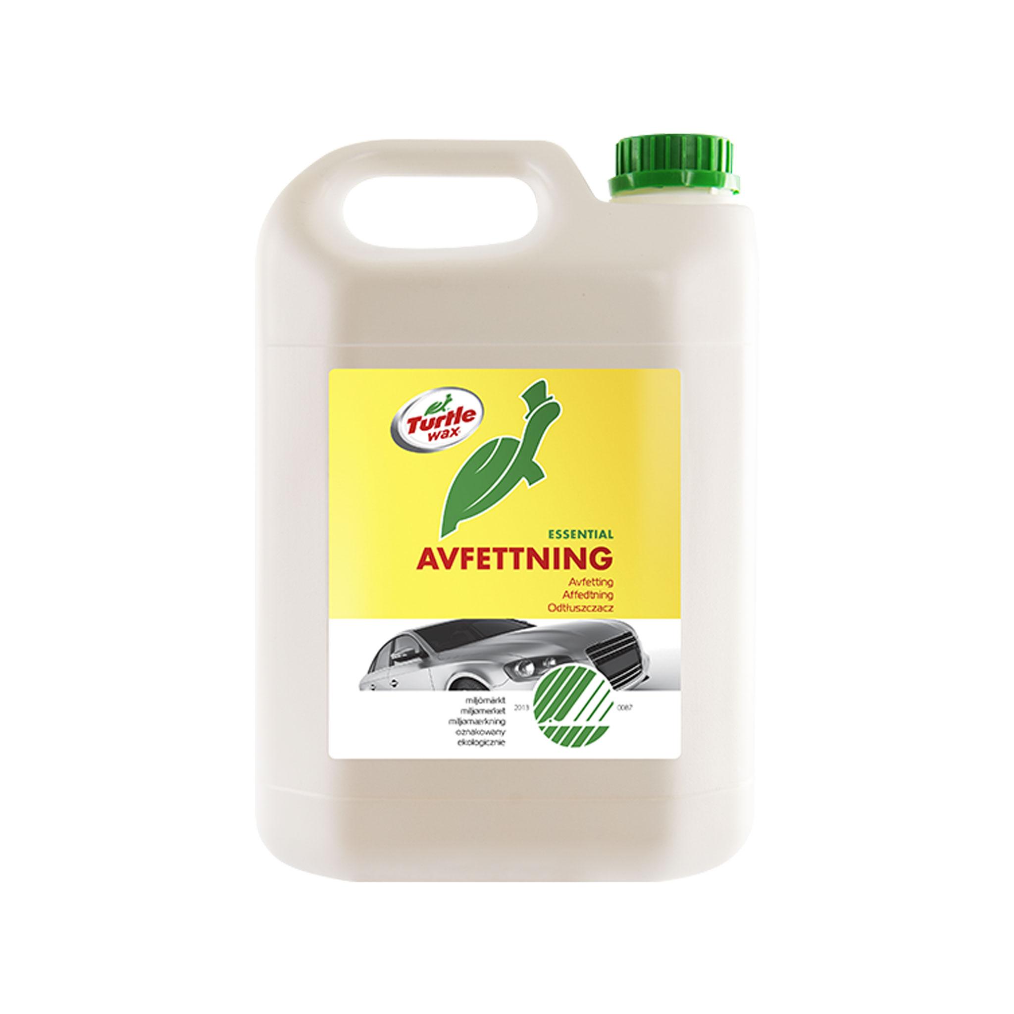 Förtvättsmedel Turtle Wax Avfettning Svanenmärkt, 5000 ml / Dunk
