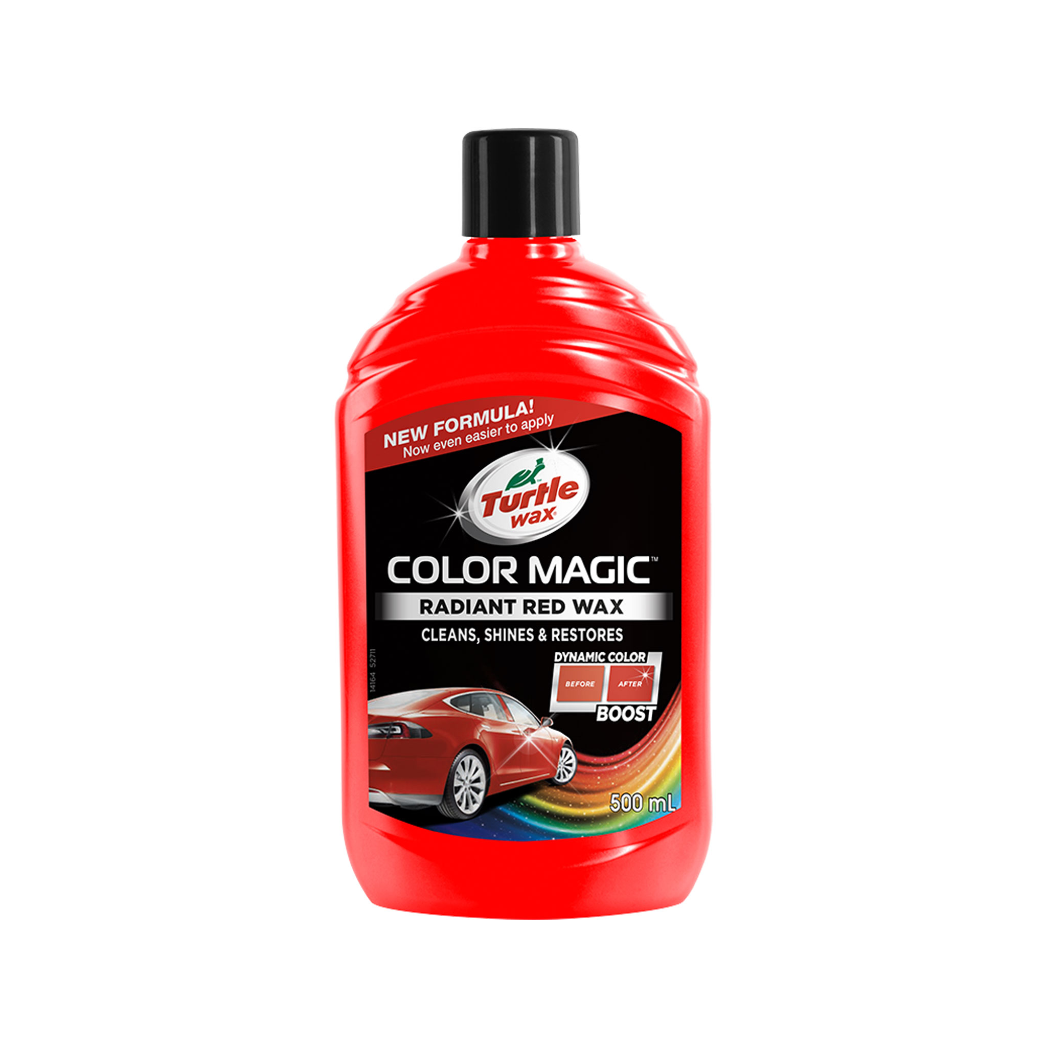 Bilvax Turtle Wax Color Magic Röd, 500 ml