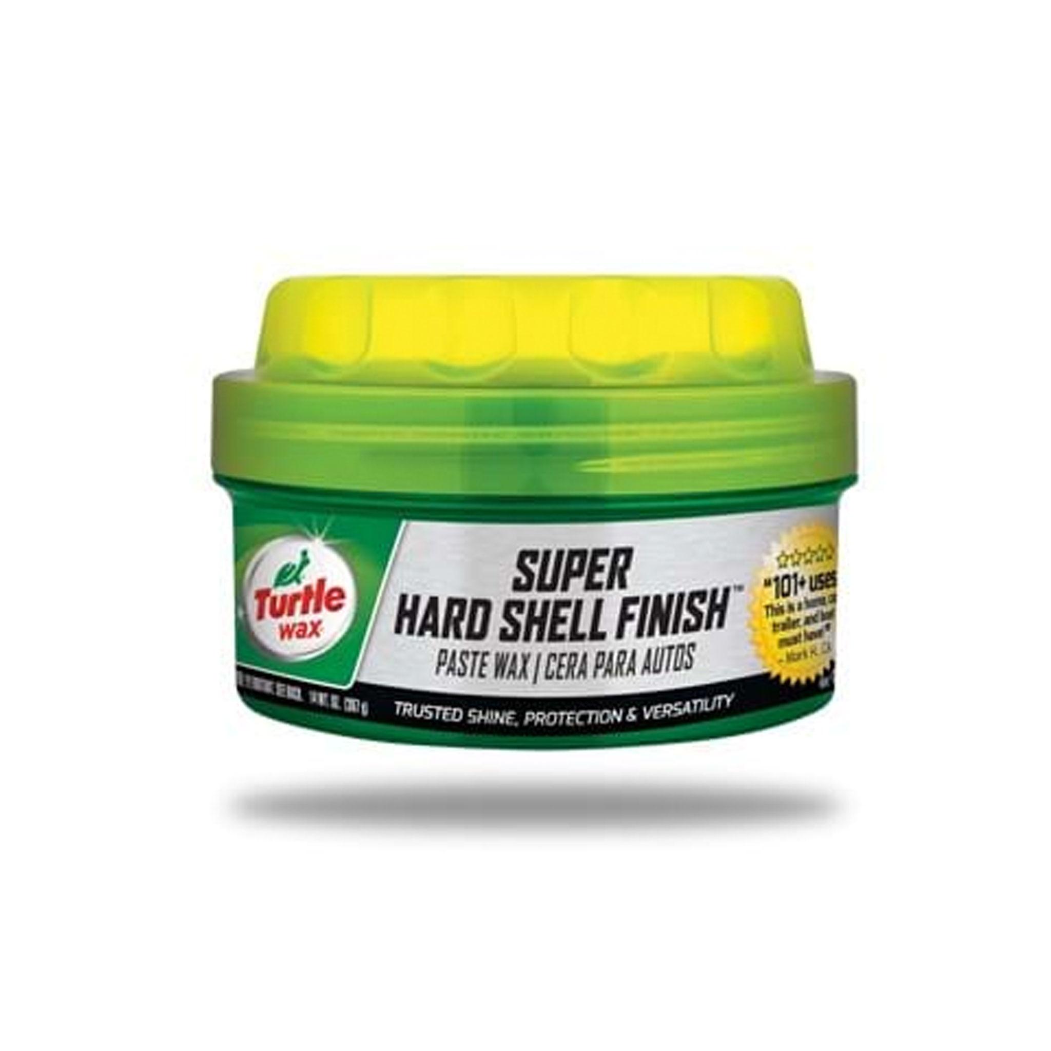 Bilvax Turtle Wax Super Hard Shell Paste Wax, 397 g