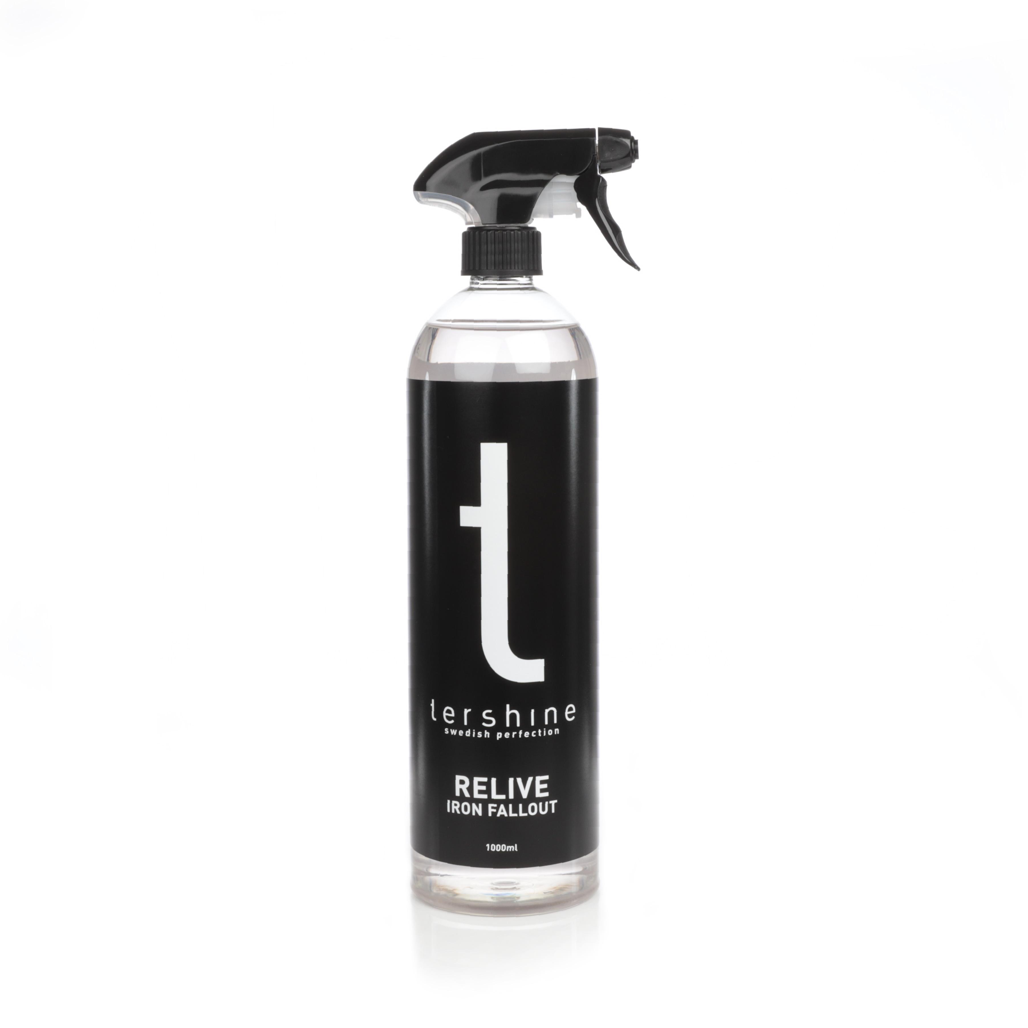 Flygrostlösare tershine Relive, Endast flaska, 1000 ml