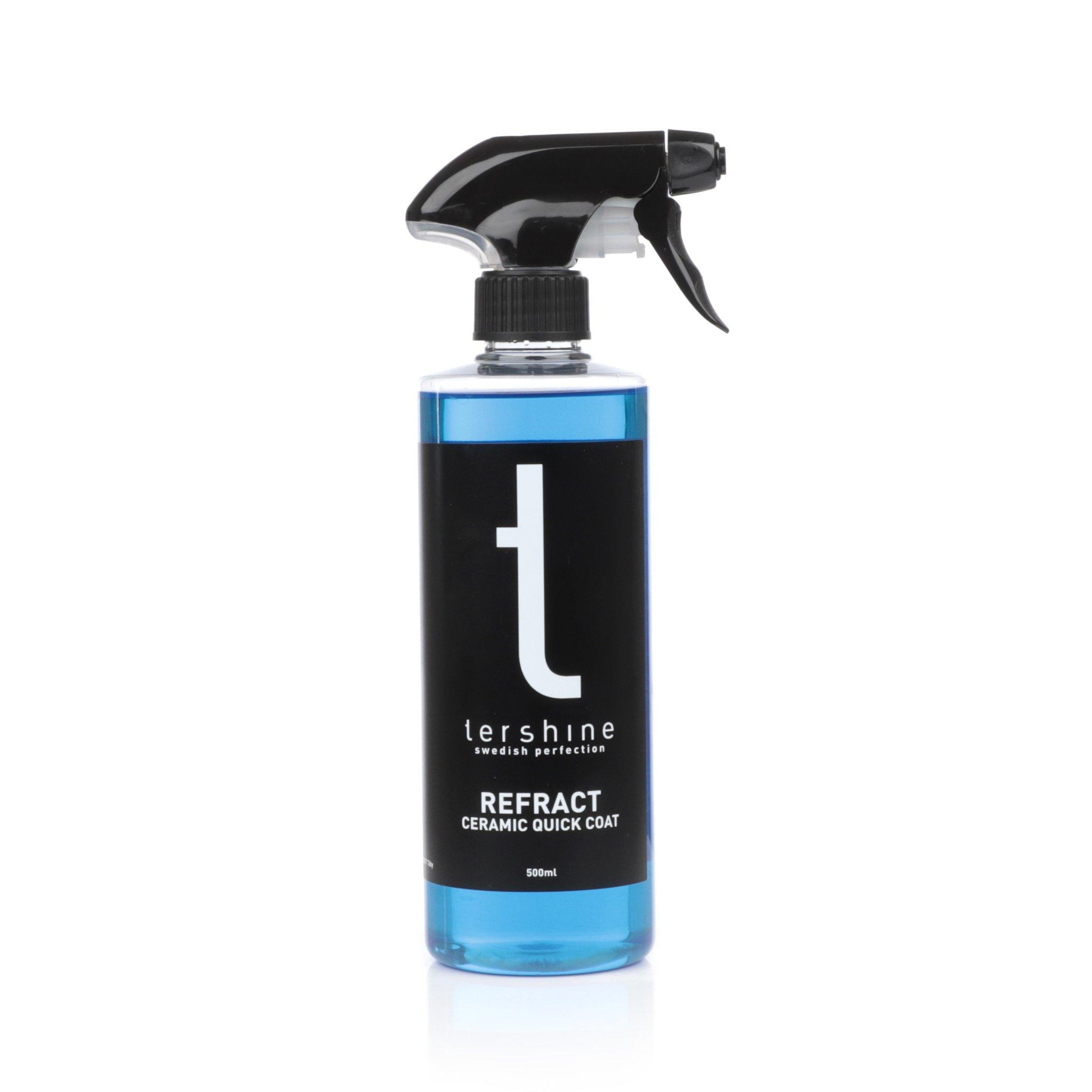 Snabbförsegling tershine Refract, 500 ml, Flaska + Mikrofiberdukar